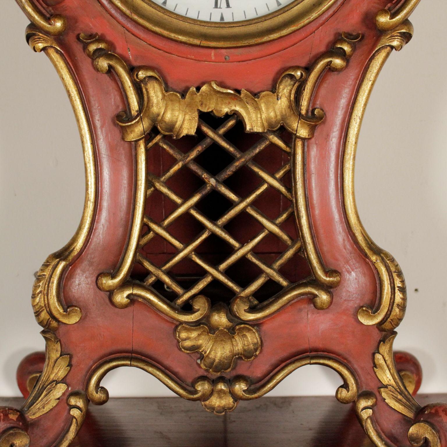 Orologio con mensola in legno oggettistica for Oggettistica particolare