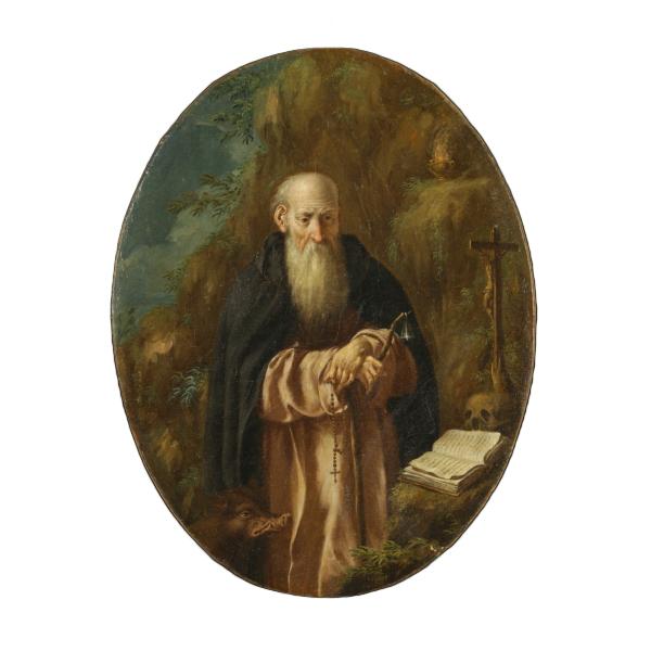 Sant 39 antonio abate pittura antica arte for Arredo bimbo sant antonio abate