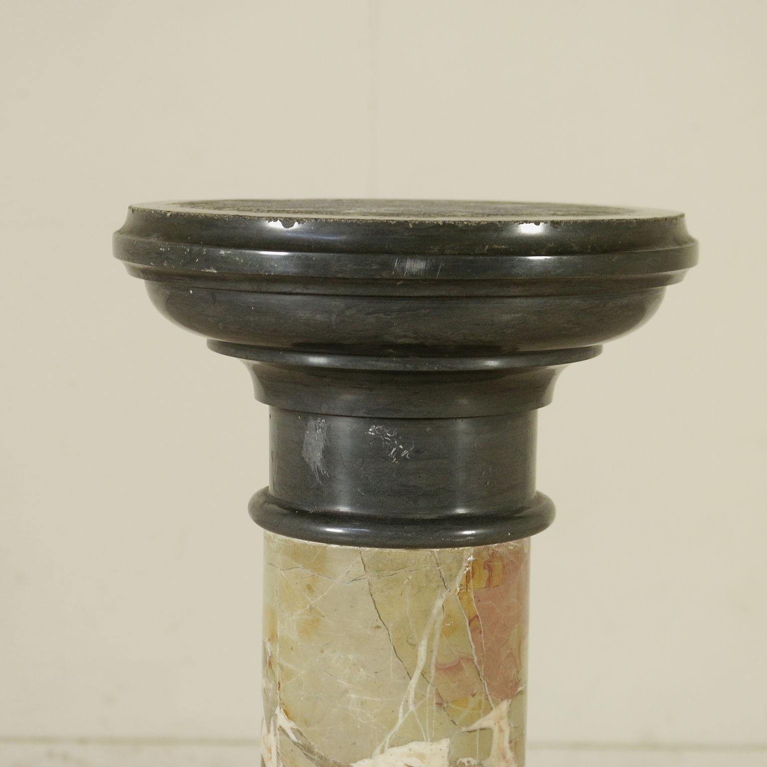 Colonna porta vaso pietre e arredi giardino for Arredi antiquariato