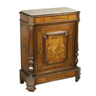 Credenza in stile impero mobili in stile bottega del 900 - Mobili bottega veneta ...