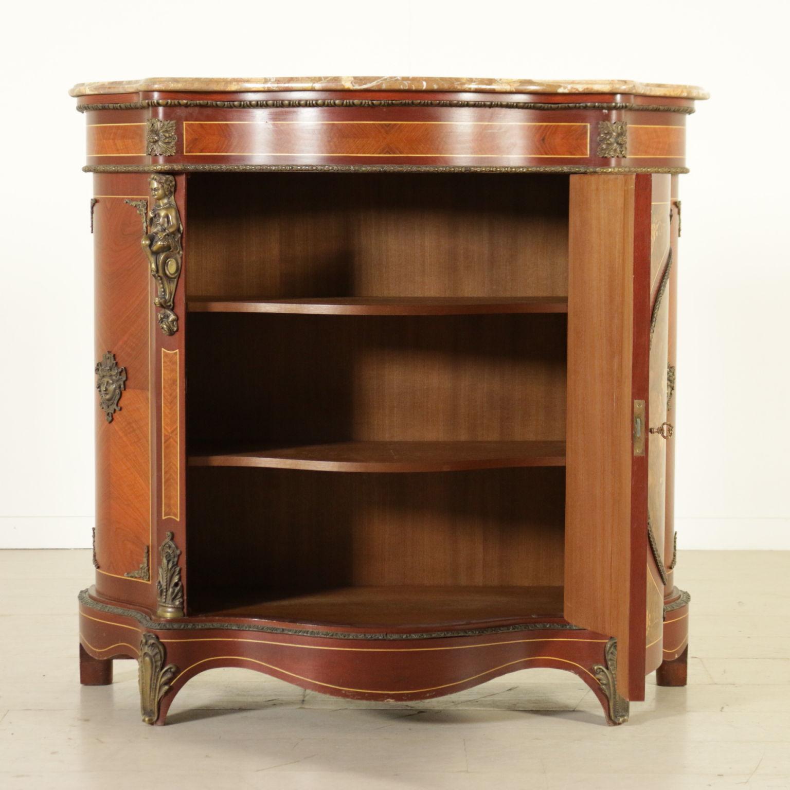 Credenza in stile mobili in stile bottega del 900 - Mobili in stile ...