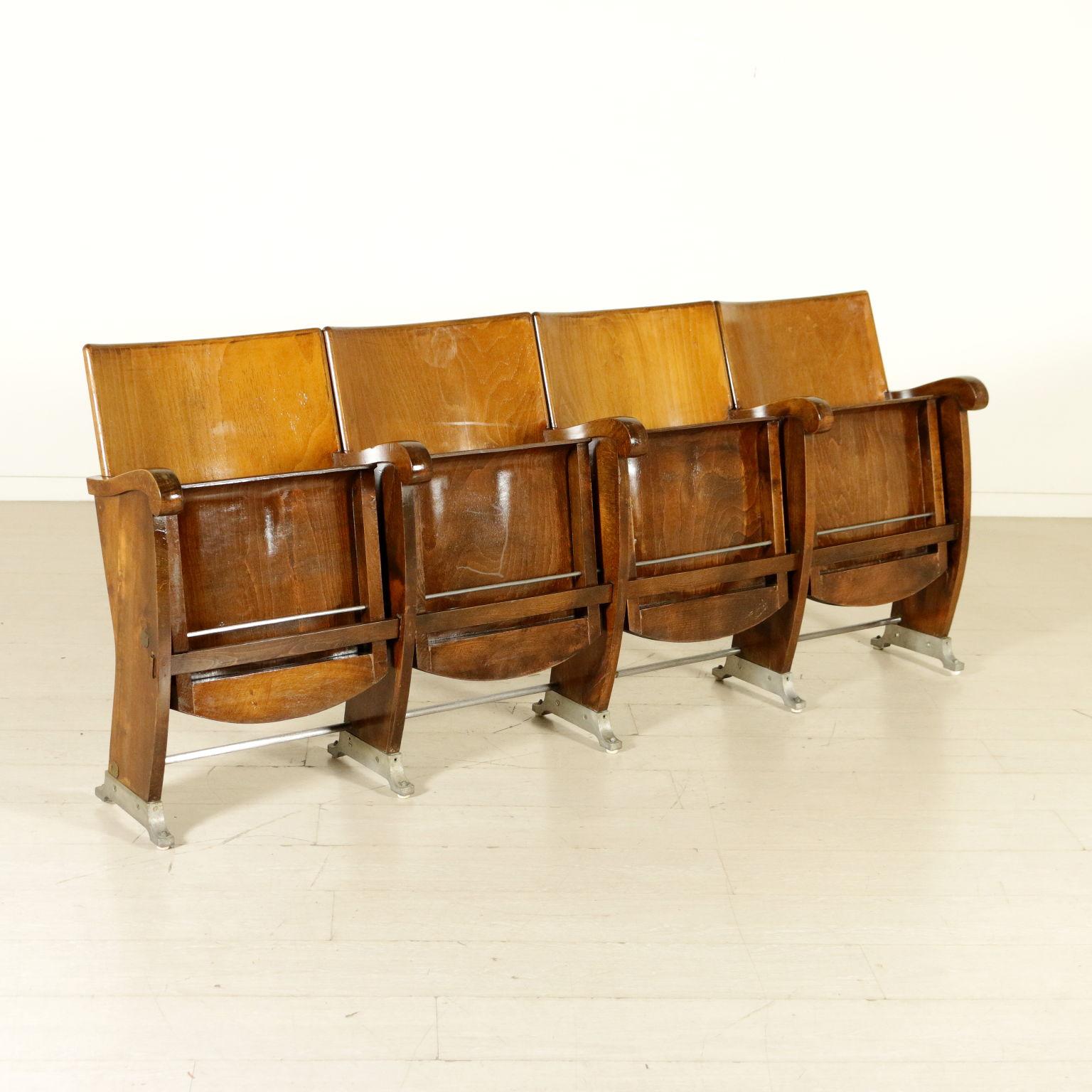 Sedie Cinema Antiche.Sedie Da Cinema Poltrone Modernariato Dimanoinmano It