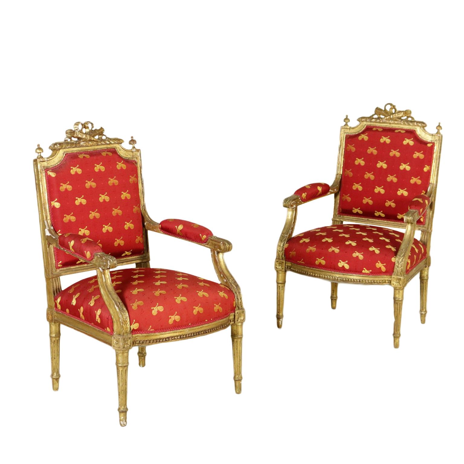 Coppia di poltrone in stile mobili in stile bottega - Mobili in stile ...