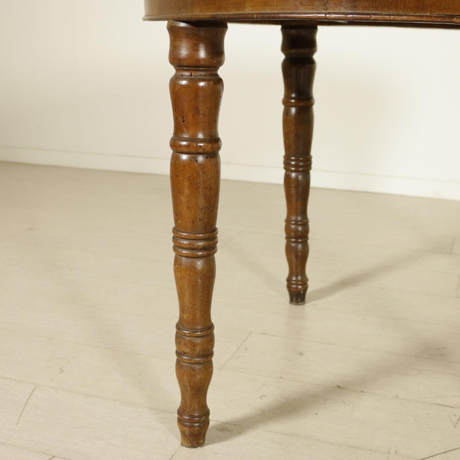 runder tisch ausziehbar tische antiquit ten. Black Bedroom Furniture Sets. Home Design Ideas