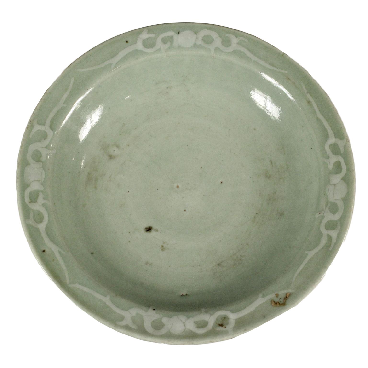 Piatto celadon ceramiche antiquariato for Piatto cinese