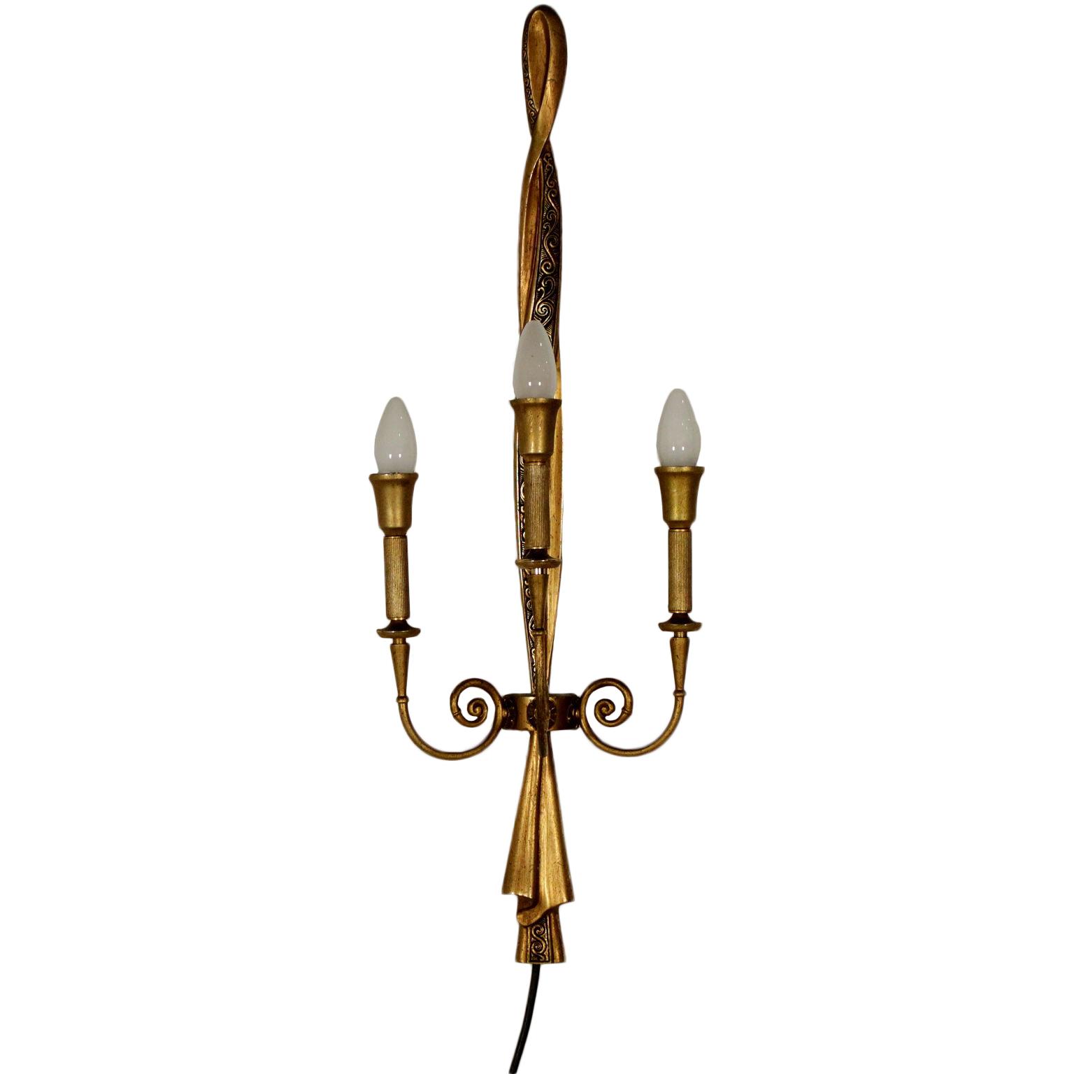 Applique a tre luci - Illuminazione - Bottega del 900 - dimanoinmano.it