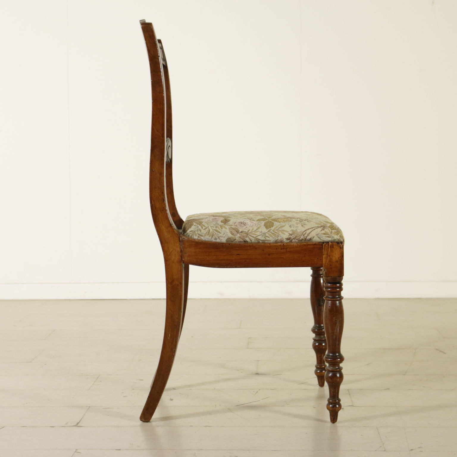 Genial Group Of Five English Chairs   Side