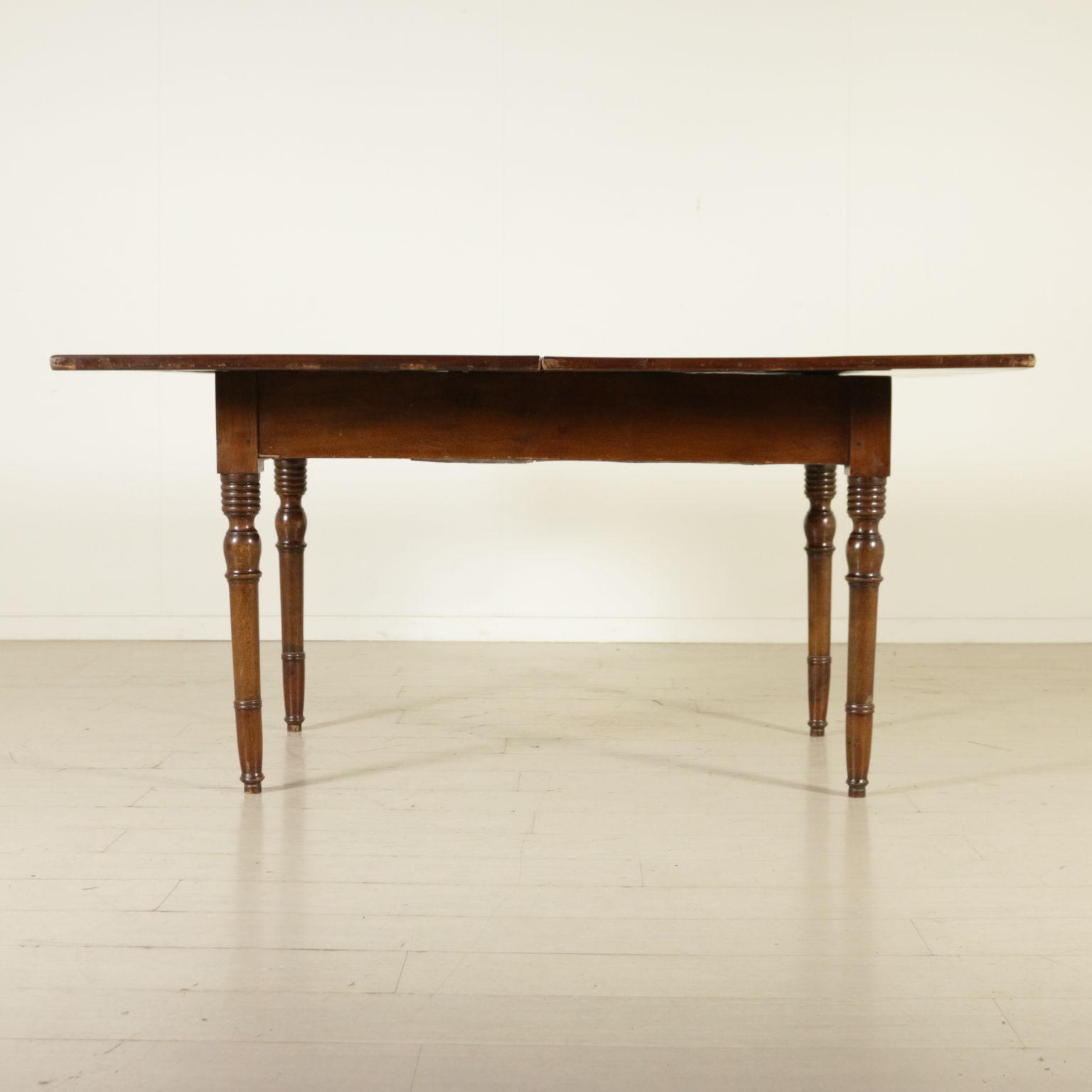 table rabattable tables antiquit s. Black Bedroom Furniture Sets. Home Design Ideas