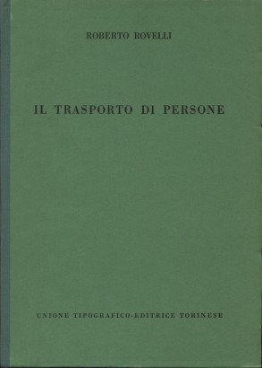 Le transport de personnes,