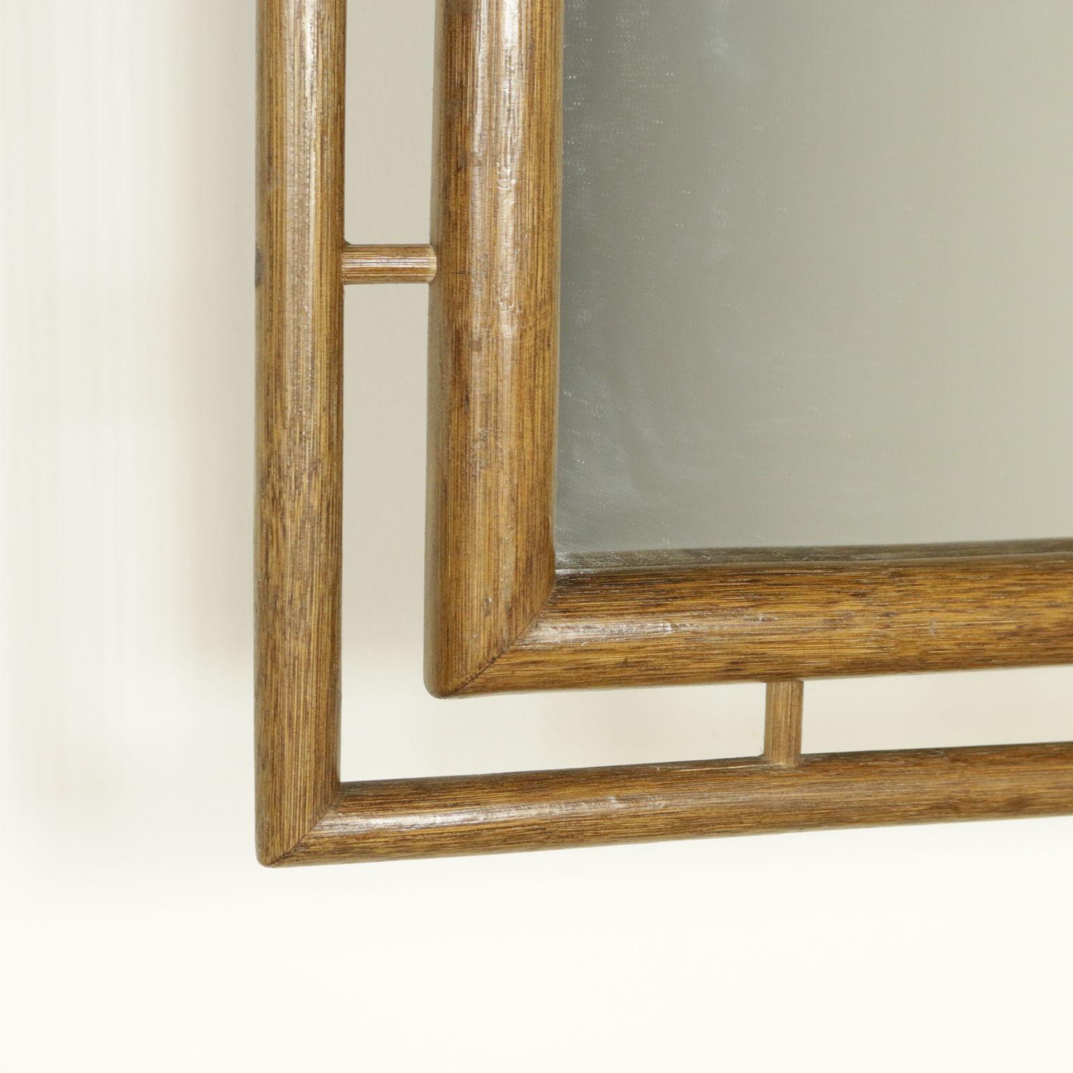 specchio anni 70 80 complementi modernariato