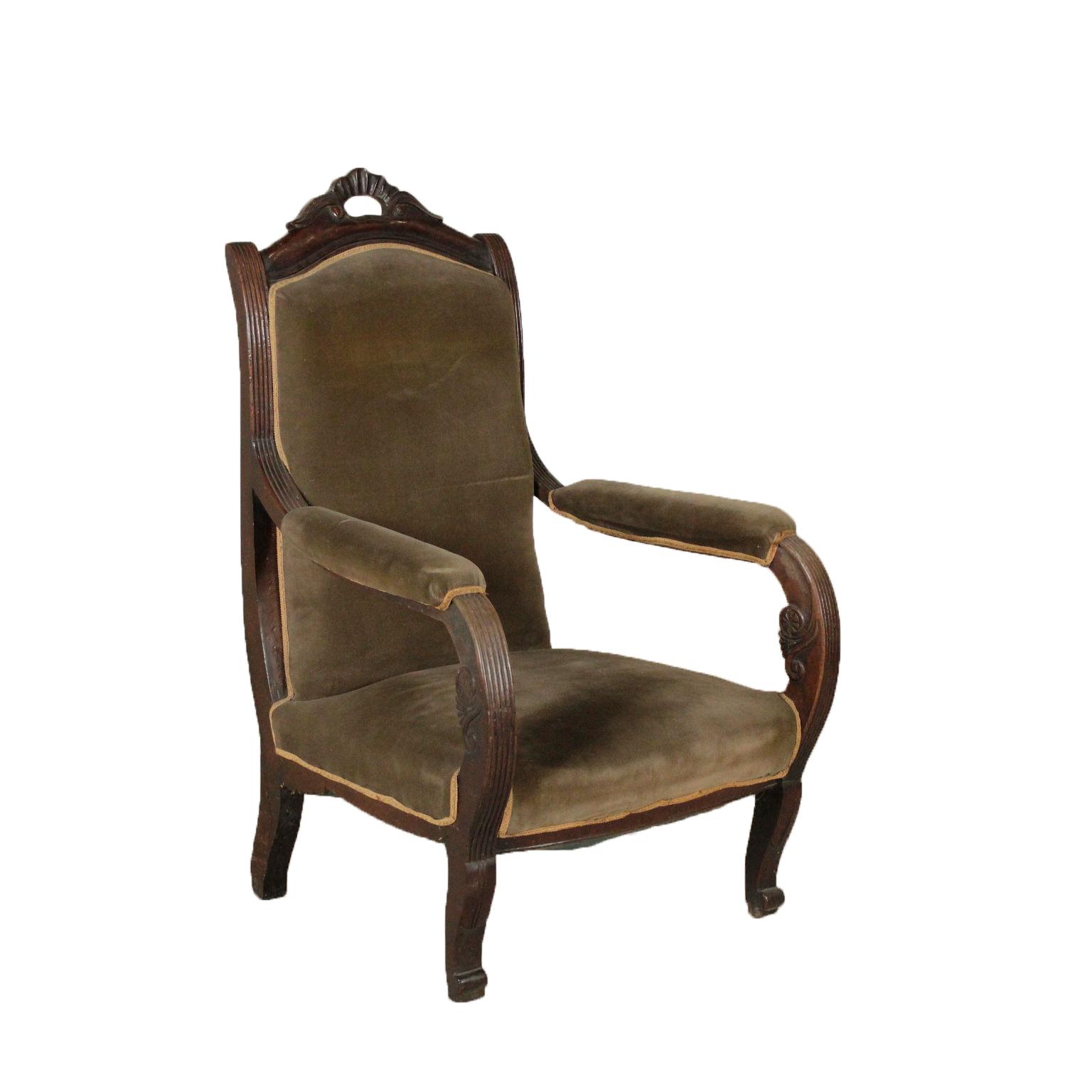 Poltrona restaurazione sedie poltrone divani for Sedie a poltrona