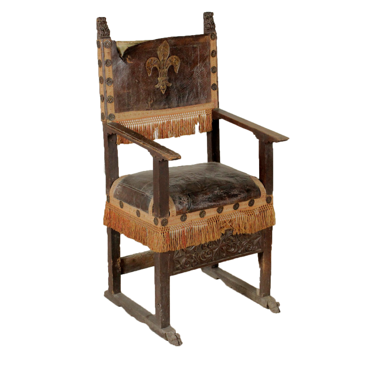 Seggiolone antico mobili in stile bottega del 900 - Mobili stile antico ...