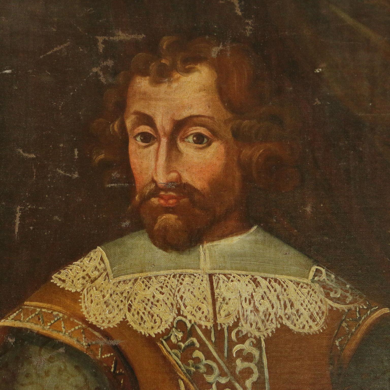 Ritratto di cavaliere pittura antica arte - Pittura particolare ...