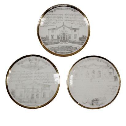Plates by Piero Fornasetti