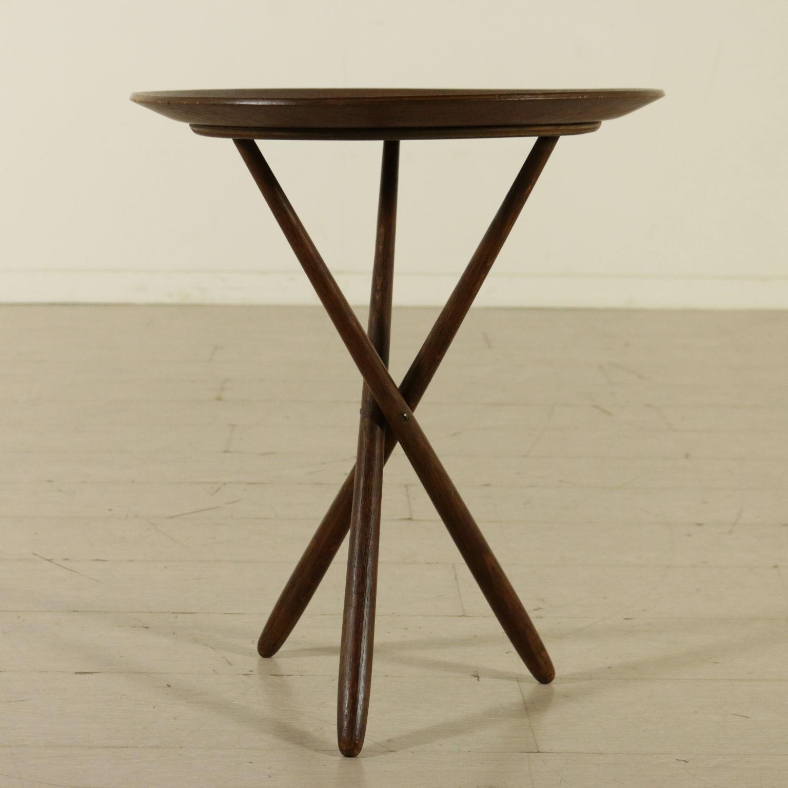 beistelltisch 50er jahre tische modernes design. Black Bedroom Furniture Sets. Home Design Ideas