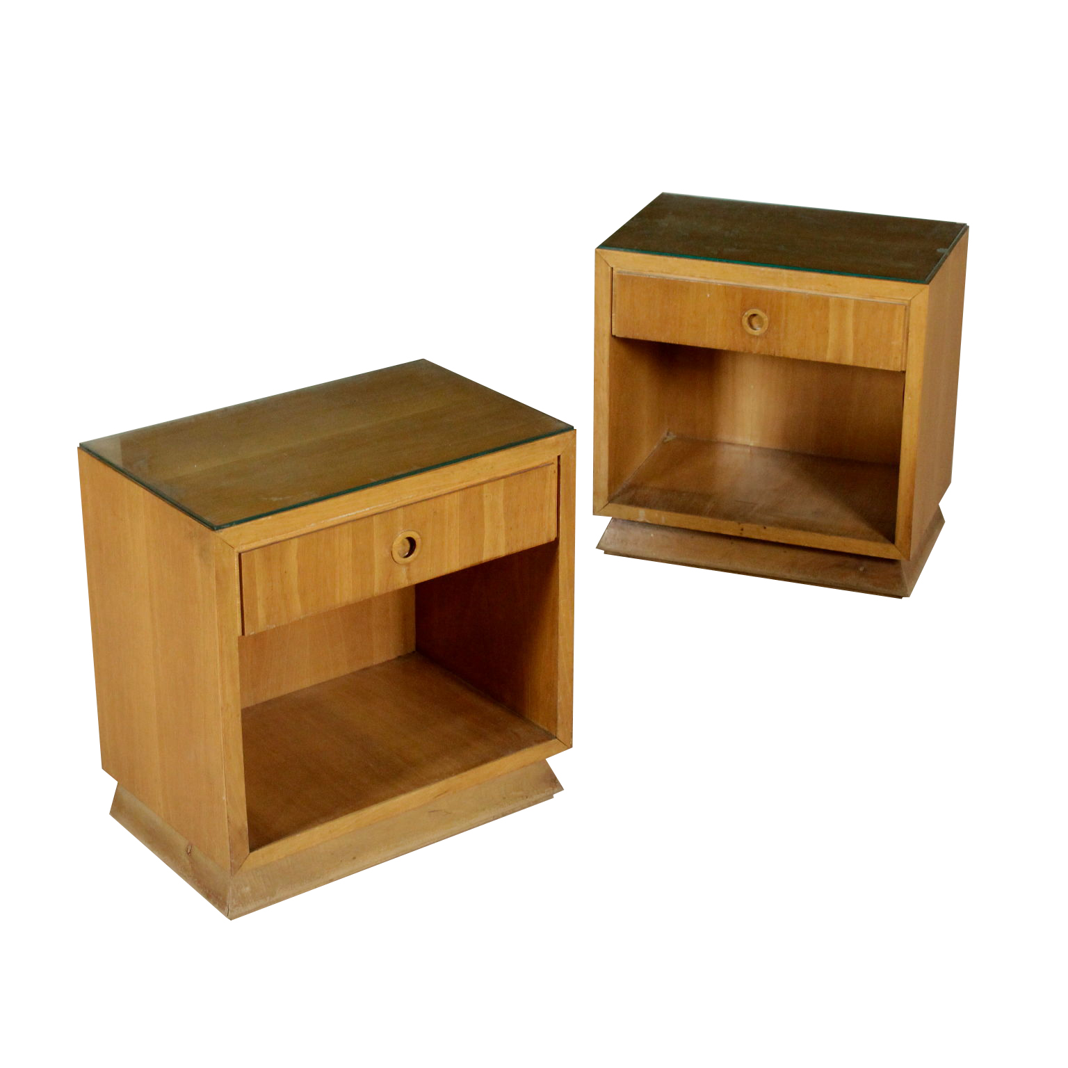 Pair Of Bedside Tables U002740s