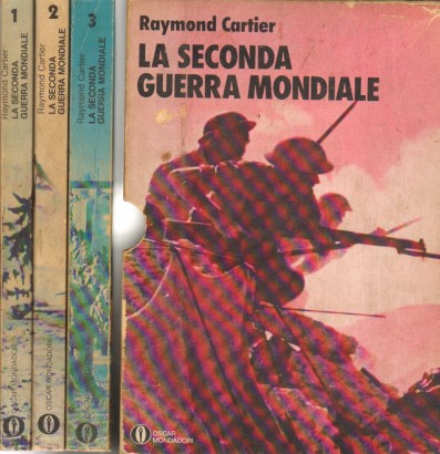 La seconde guerre mondiale, 3 Volumes