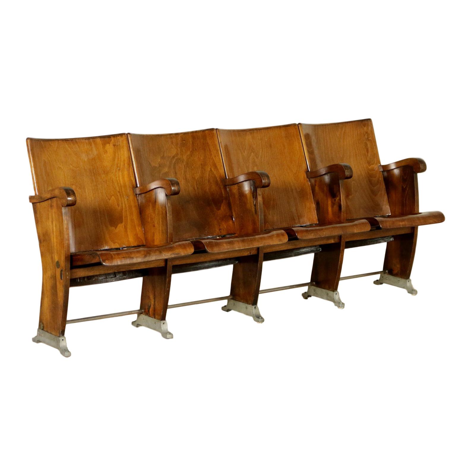 Sedie da cinema poltrone modernariato for Poltrone sedie