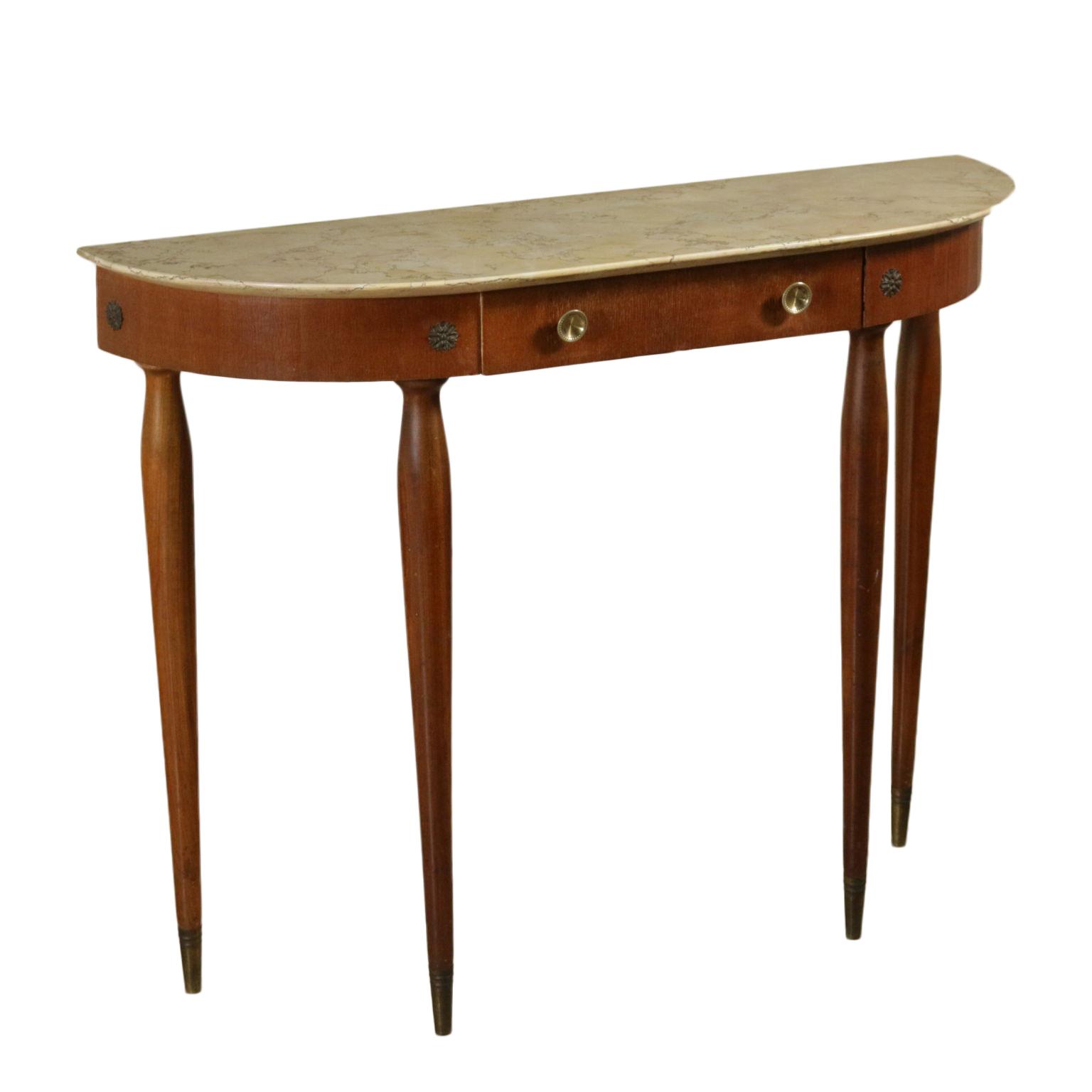 Consolle anni 50 tavoli modernariato for Negozi tavoli milano