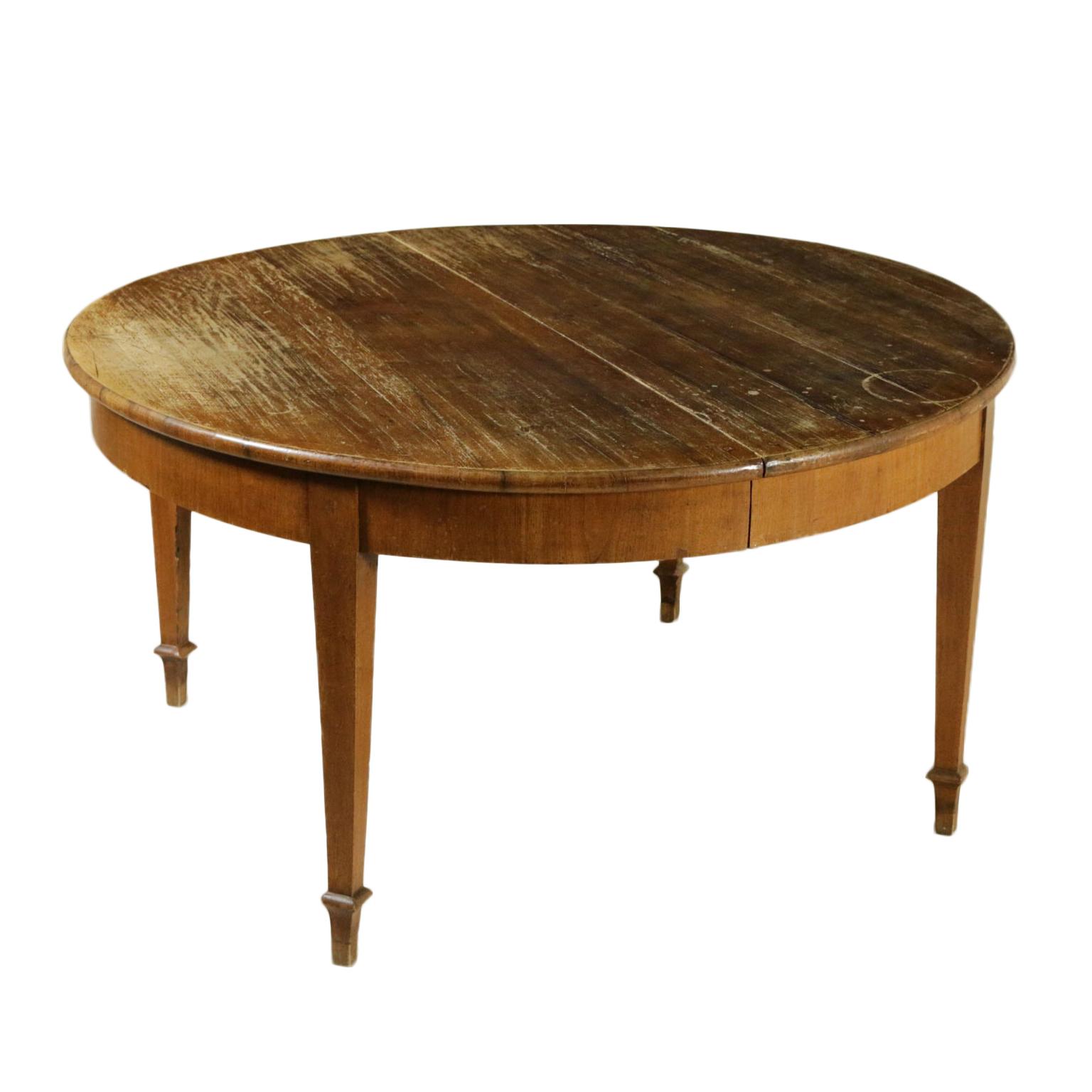Tavolo direttorio apribile tavoli antiquariato for Tavolo apribile