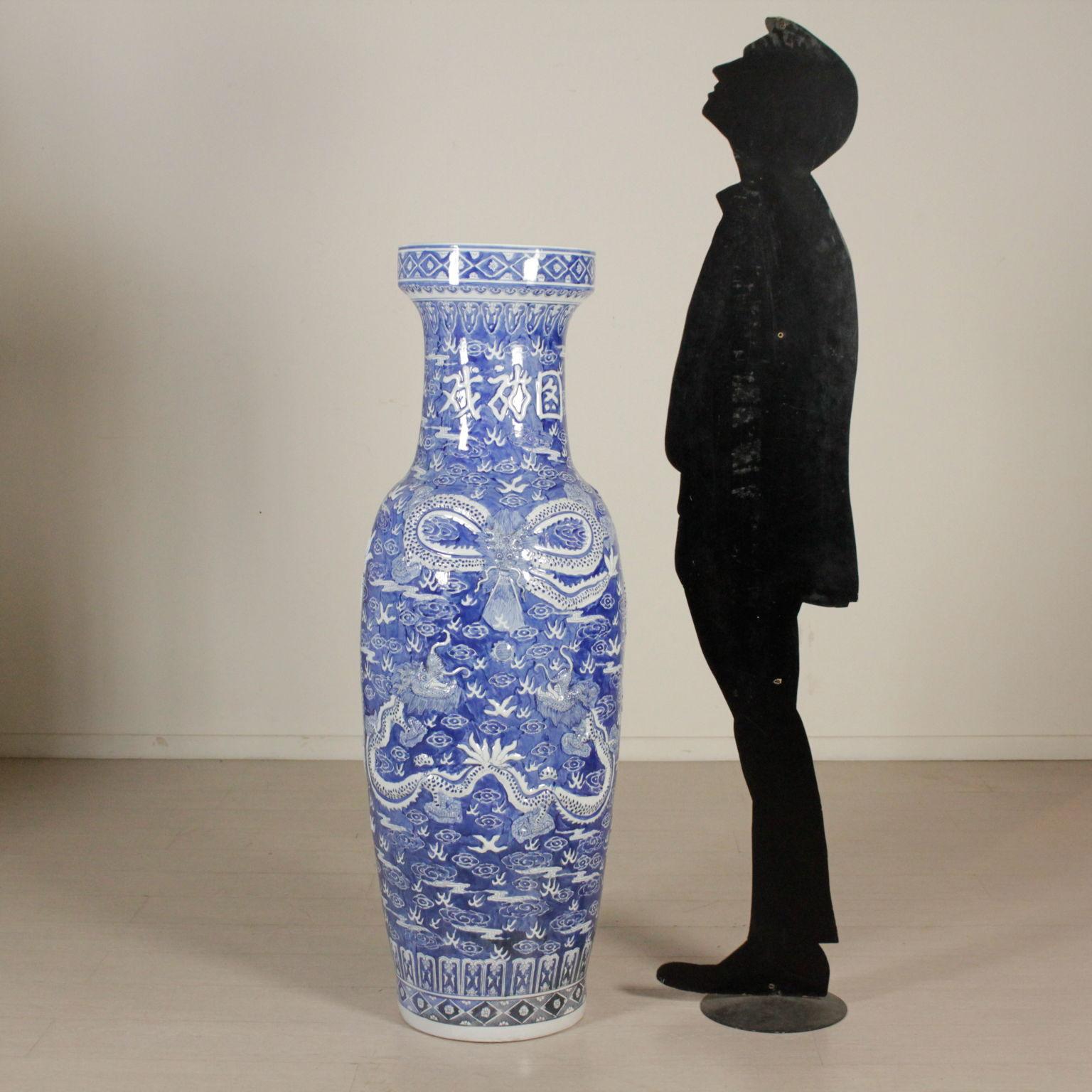 Vasi Interno Grandi Dimensioni grande vaso cinese - oggettistica - bottega del 900