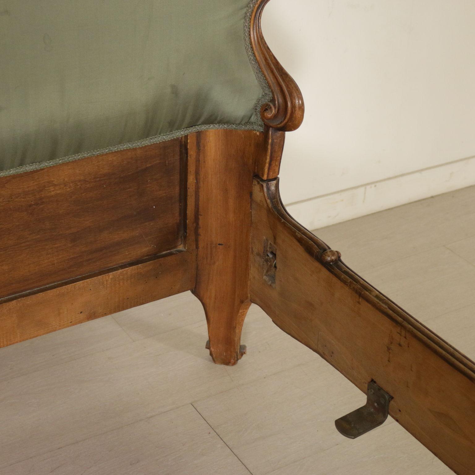 Struttura letto singolo in stile barocchetto bottega - Struttura letto singolo ...