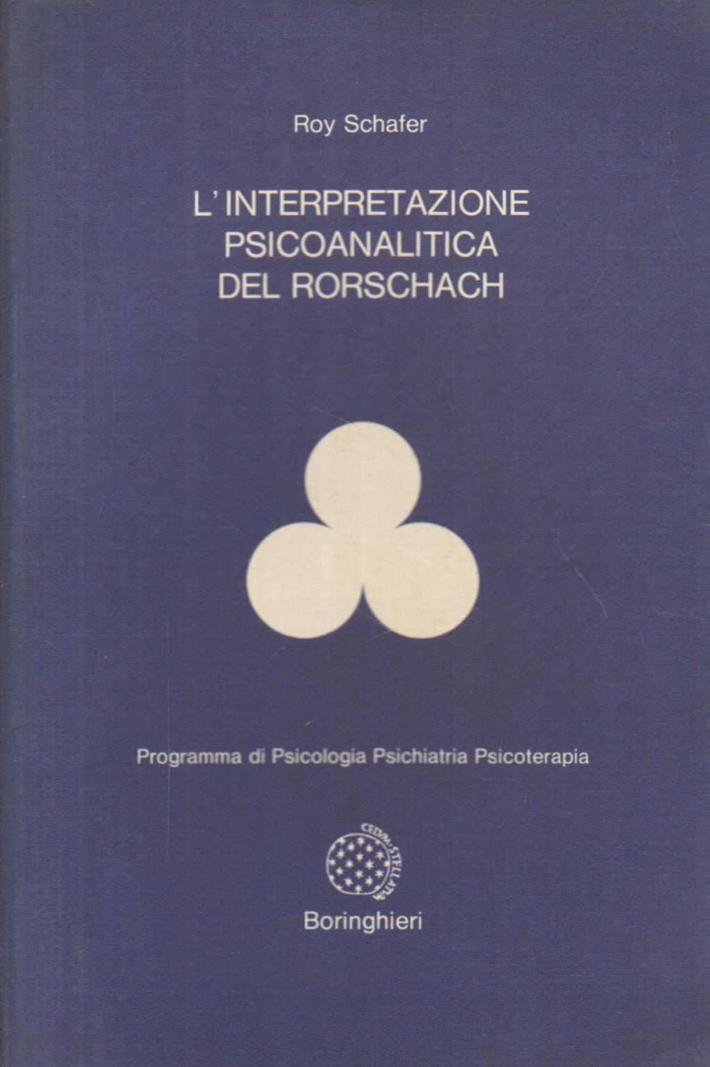 L 39 interpretazione psicoanalitica del rorschach roy - Tavole di rorschach interpretazione ...