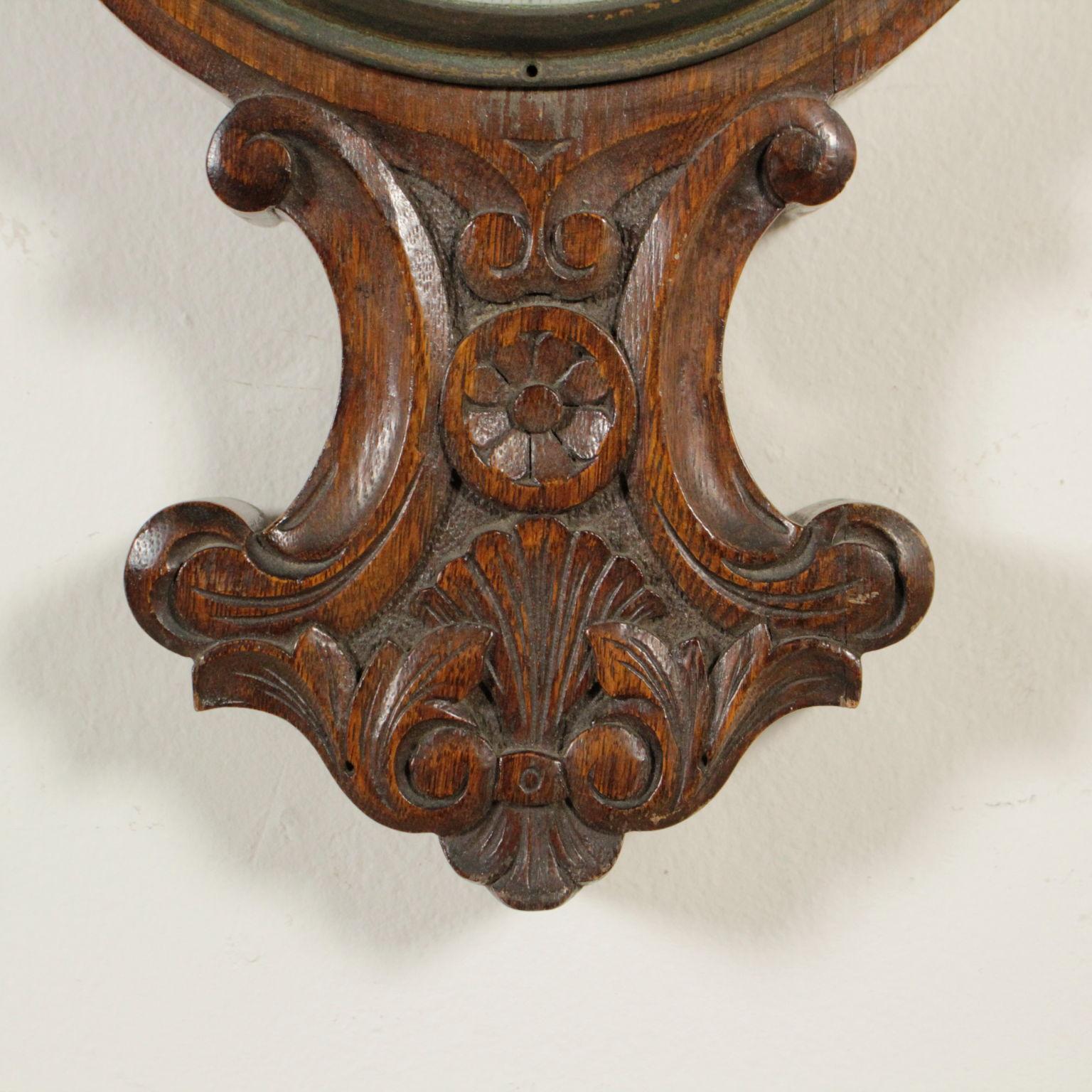 Barometro in legno oggettistica bottega del 900 for Oggettistica particolare