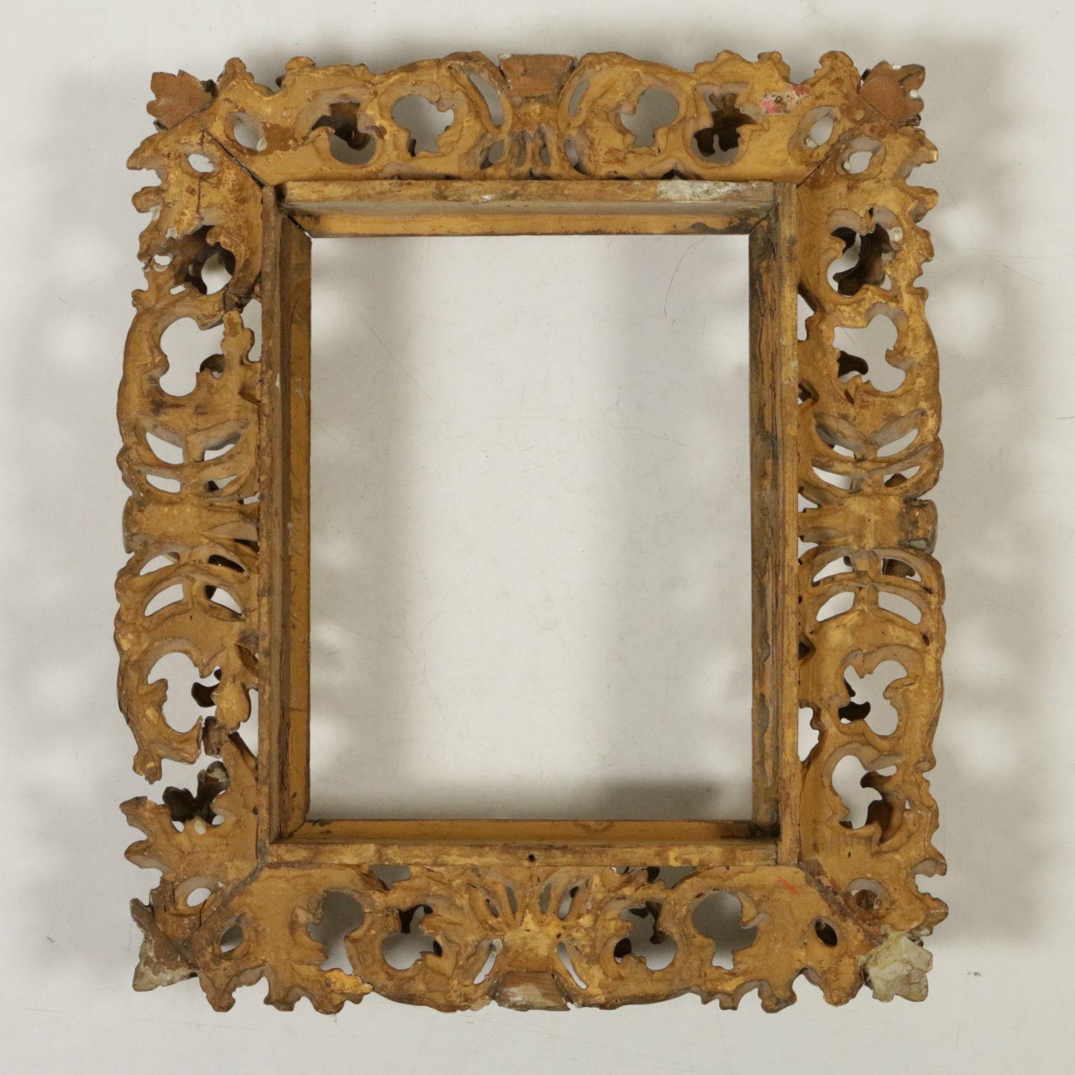 Cornice dorata specchi e cornici antiquariato - Specchio con cornice dorata ...