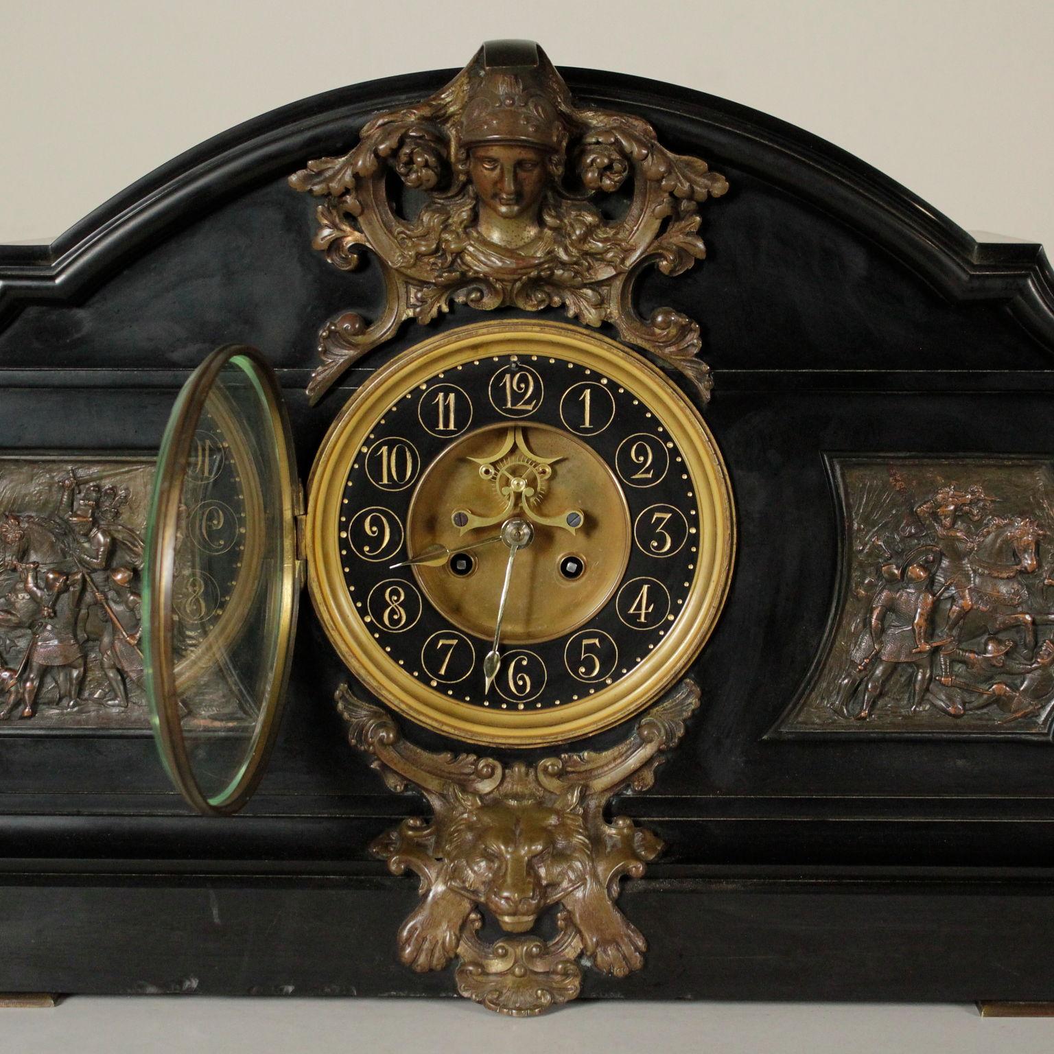 Orologio da appoggio in marmo oggettistica for Oggettistica particolare