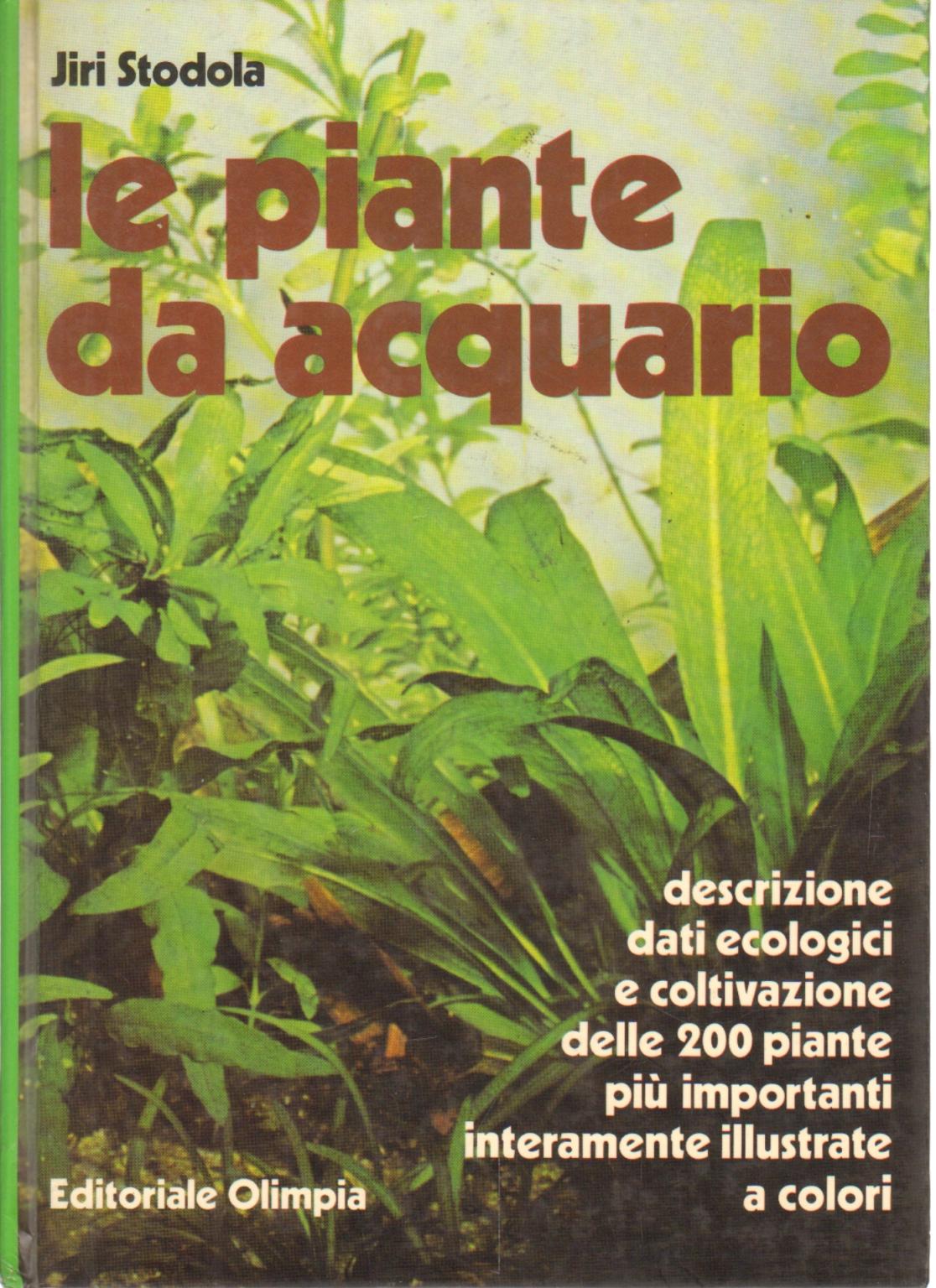 Le piante da acquario jiri stodola manualistica varia for Piante da acquario