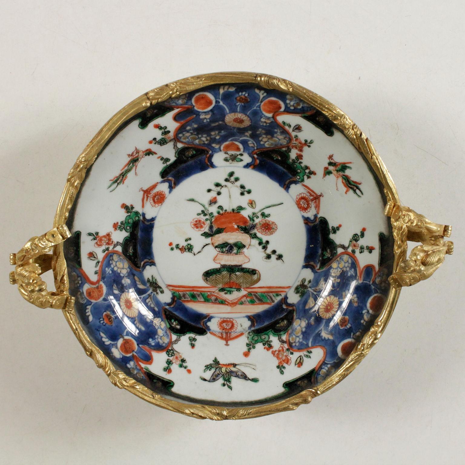 Piatto imari cinese ceramiche antiquariato for Piatto cinese