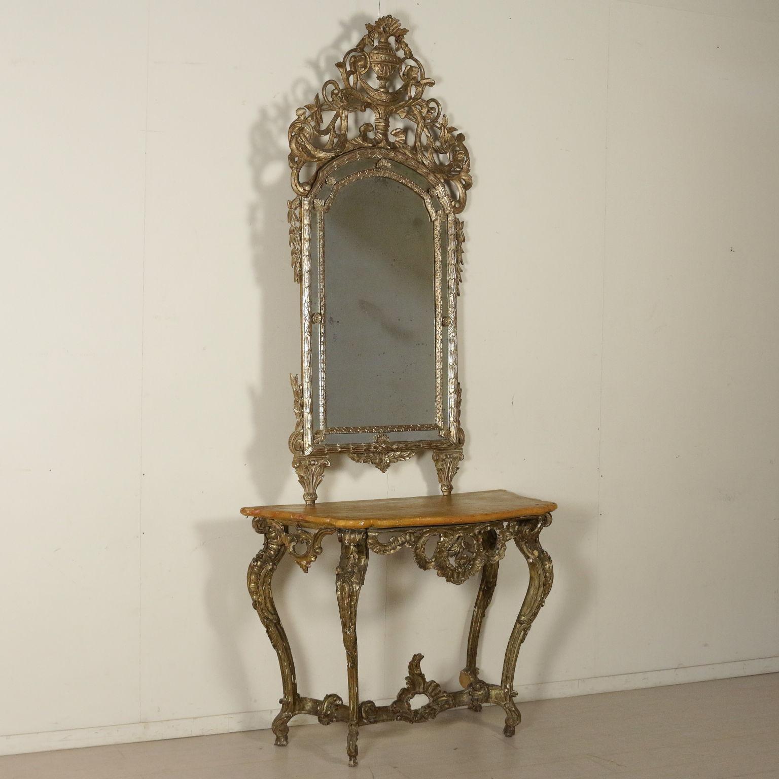 Specchiera in stile mobili in stile bottega del 900 - Mobili in stile ...