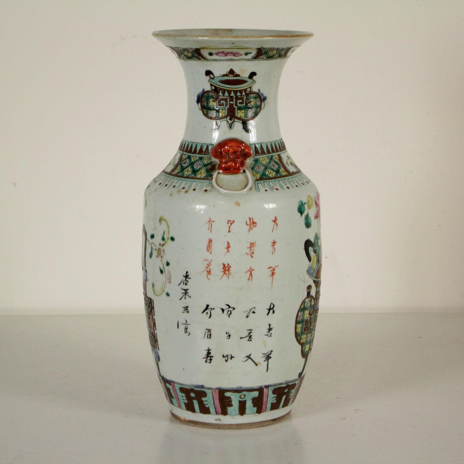 Vaso cinese ceramiche antiquariato for Vasi cinesi antichi antiquariato