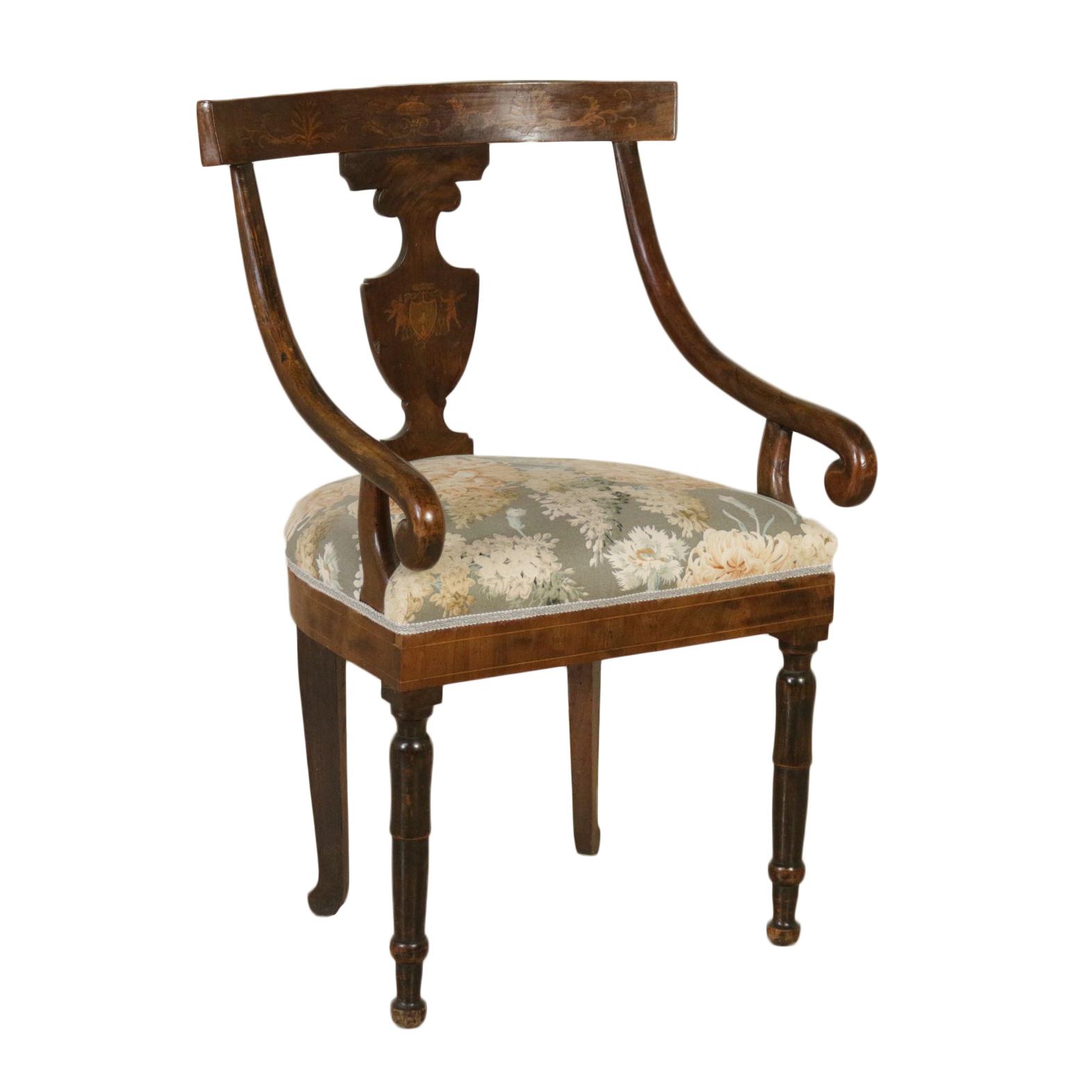 Poltroncina restaurazione sedie poltrone divani for Poltrone sedie