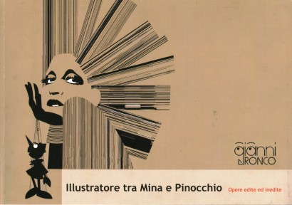 Illustrator between Mina and Pinocchio