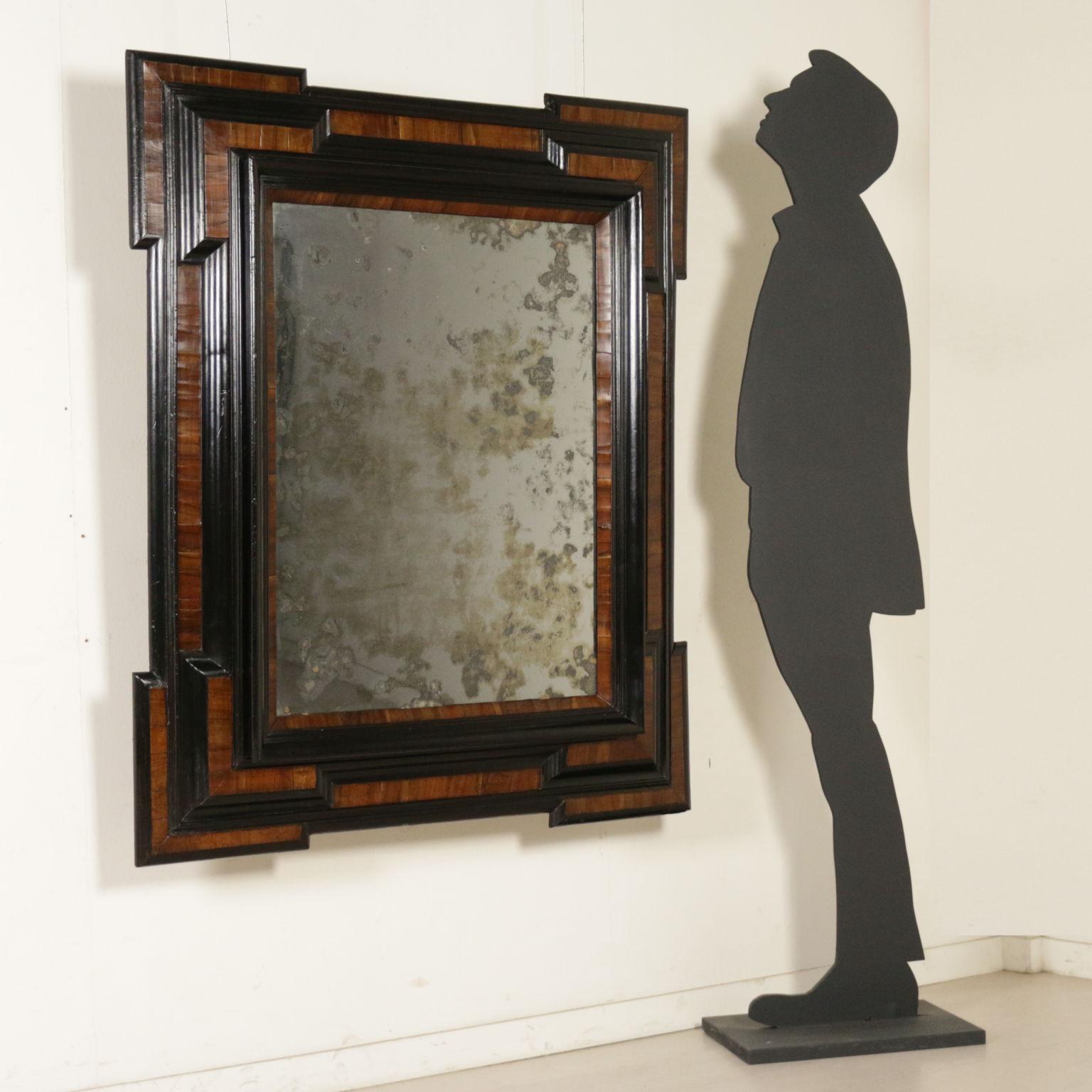 Cornice lombarda con specchio specchi e cornici - Cornici per specchi ...