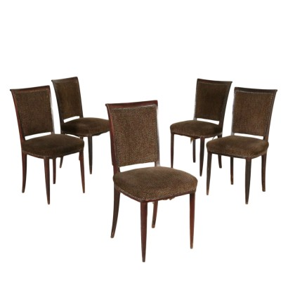 Set of Five Chairs