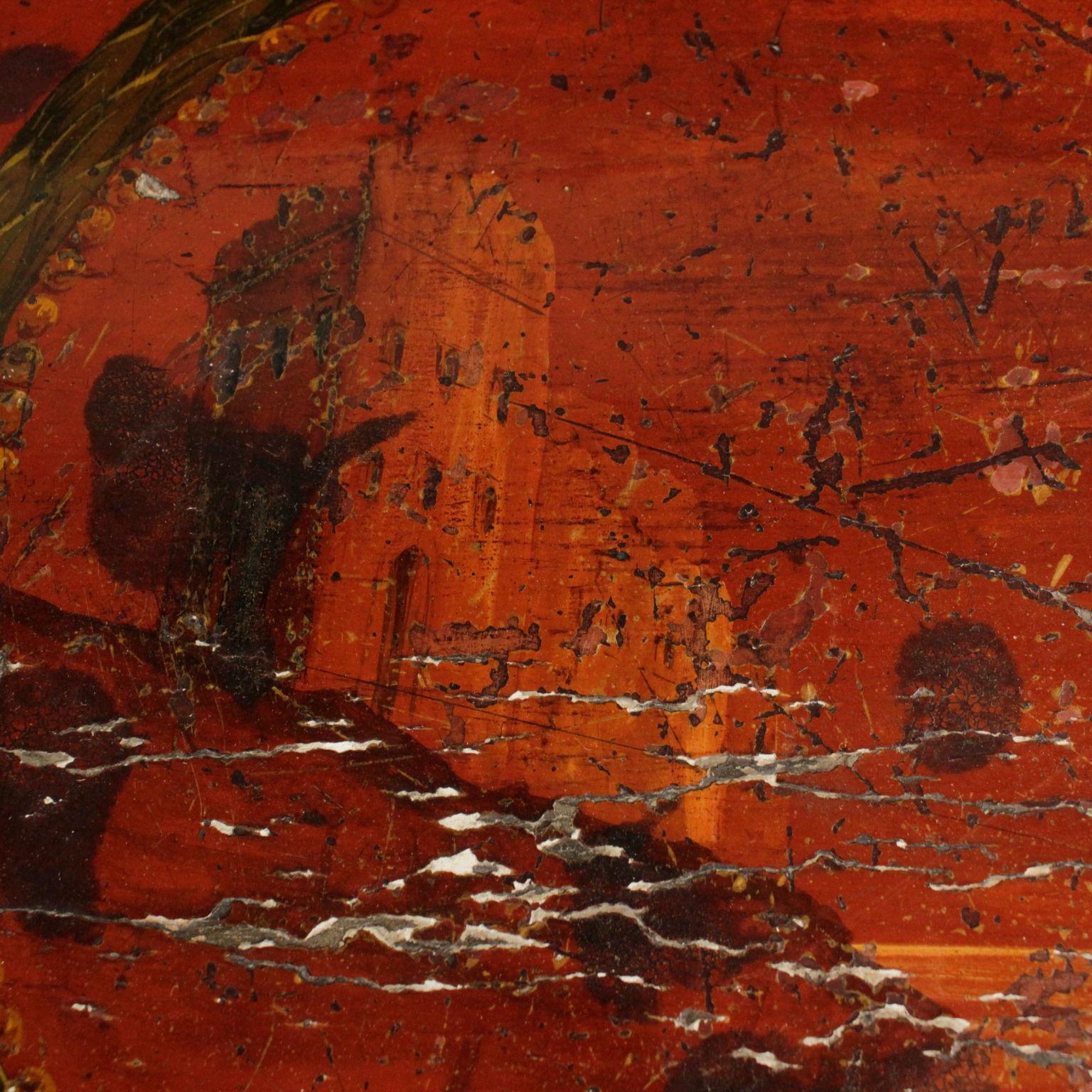 Lacquered Demilune Cabinet - Mobili in stile - Bottega del 900
