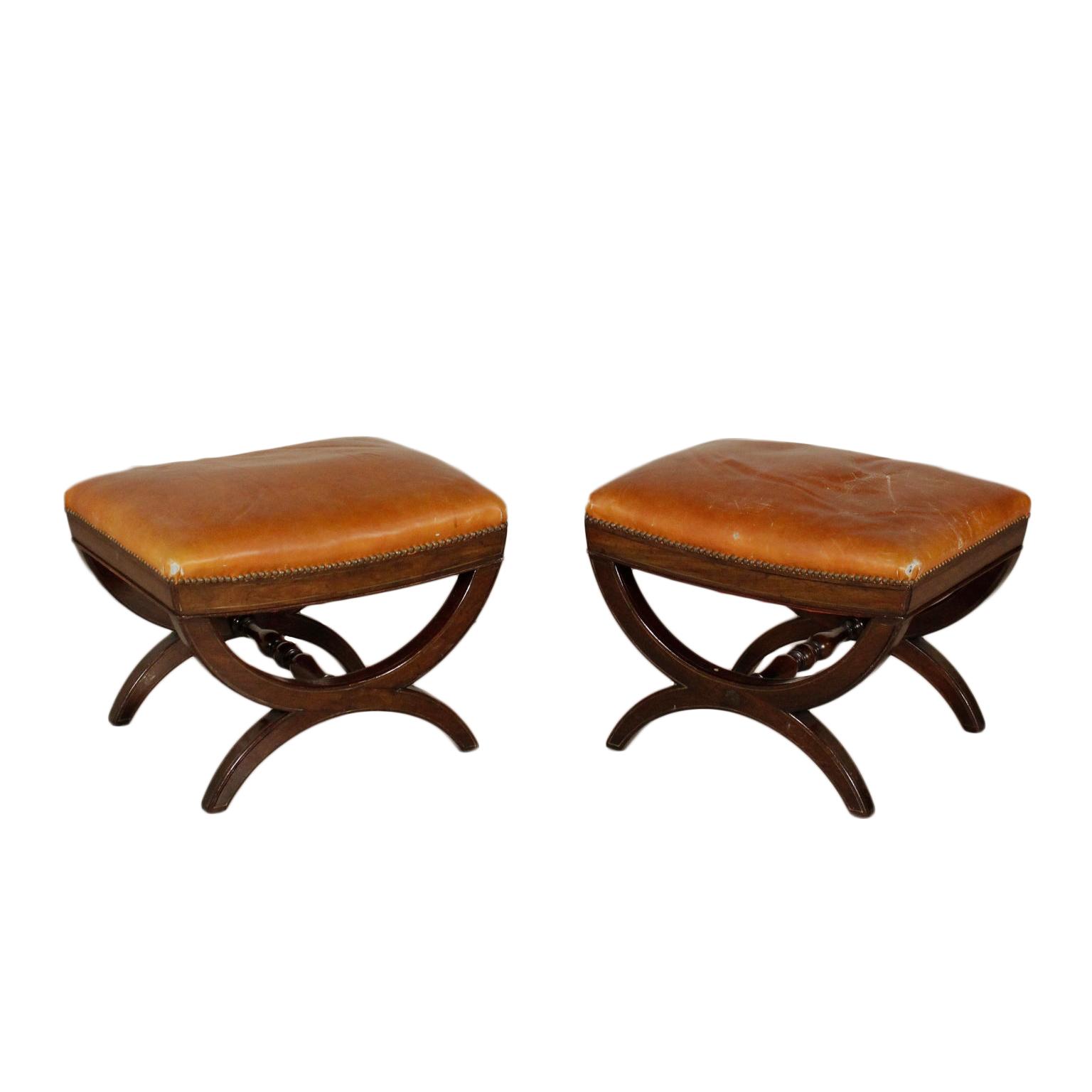 Par de Taburetes de bar, de estilo Victoriano - Muebles de estilo ...