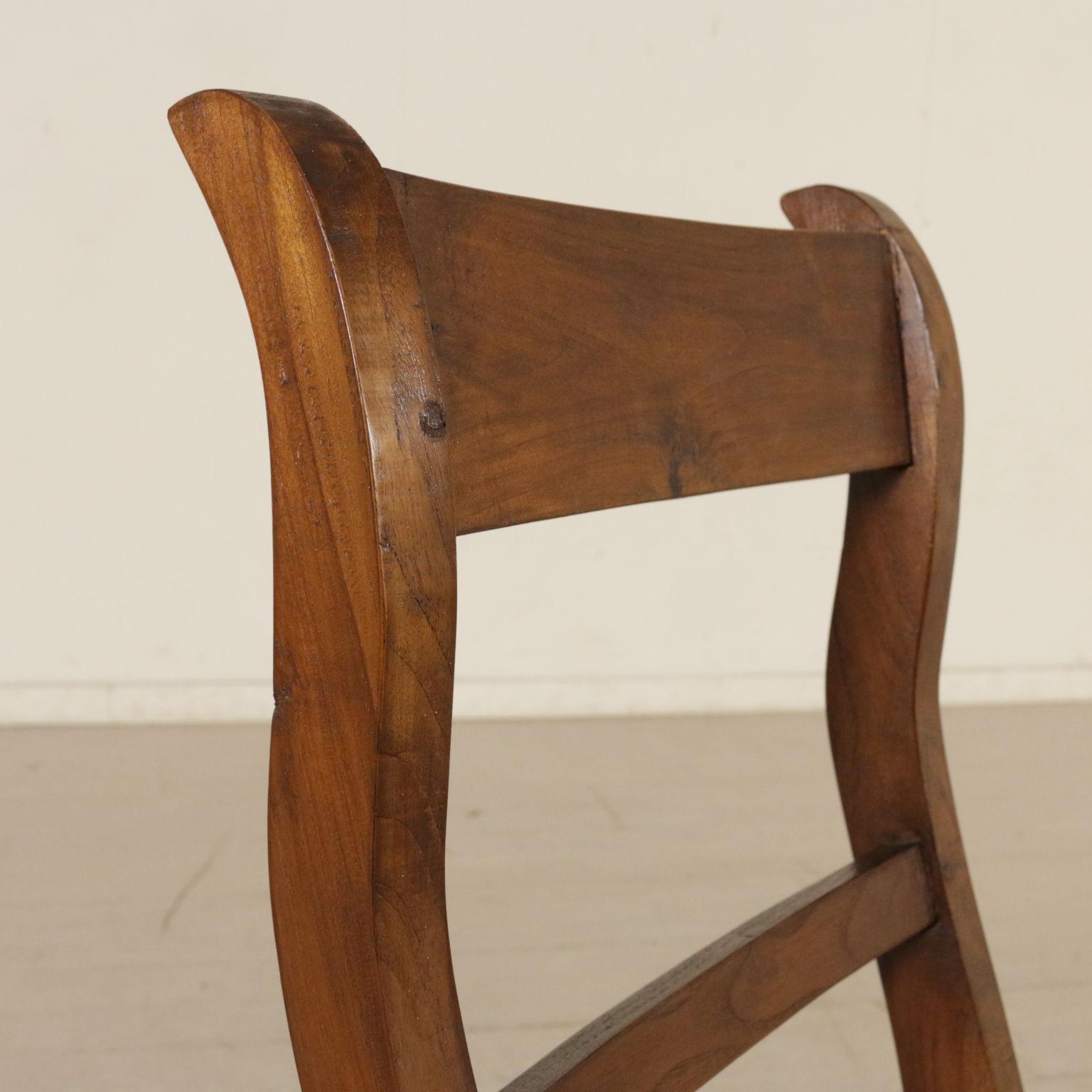 Sedia scaletta da libreria mobili in stile bottega del for Sedia particolare