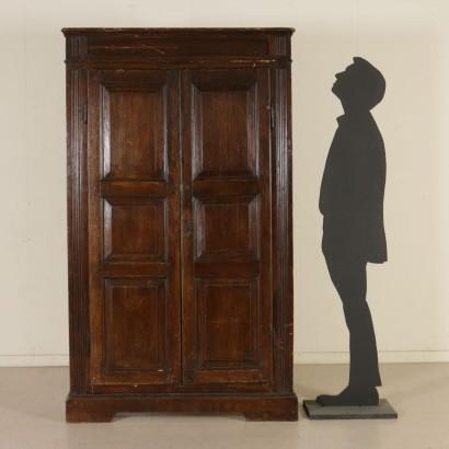 Piccolo armadio mobili in stile bottega del 900 for Armadio piccolo