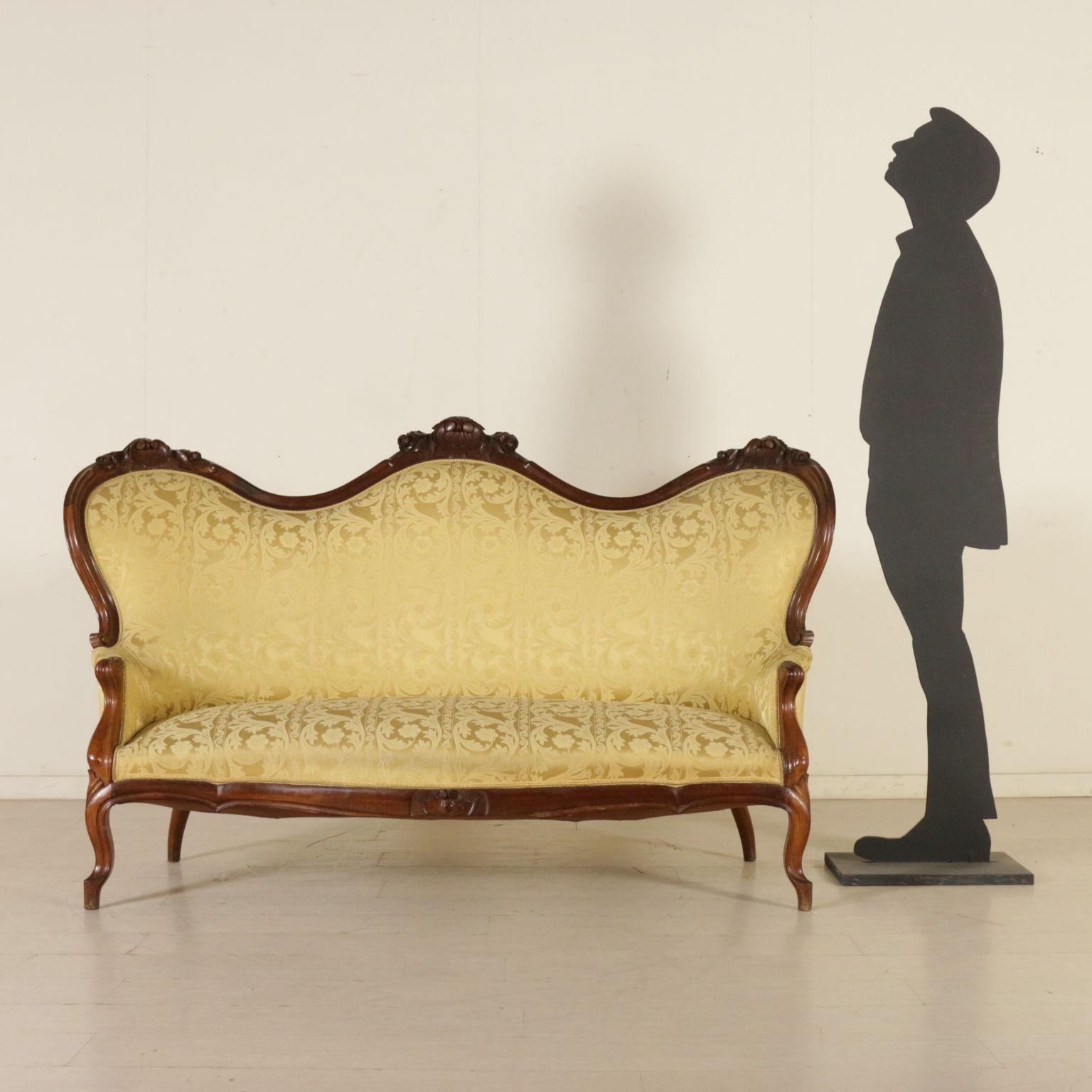 Divano luigi filippo sedie poltrone divani antiquariato - Divano luigi filippo ...