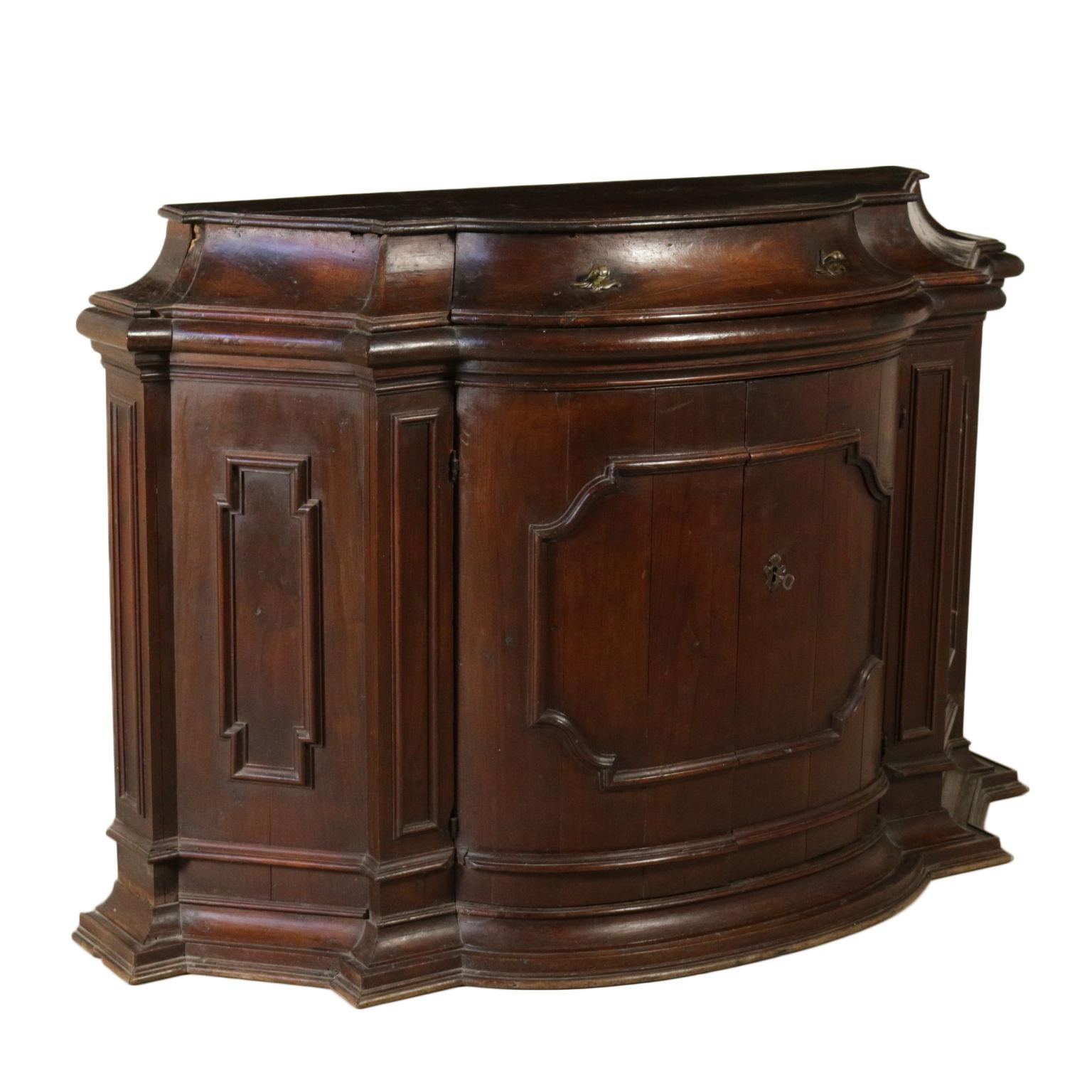 credenza scantonata mobili in stile bottega del 900