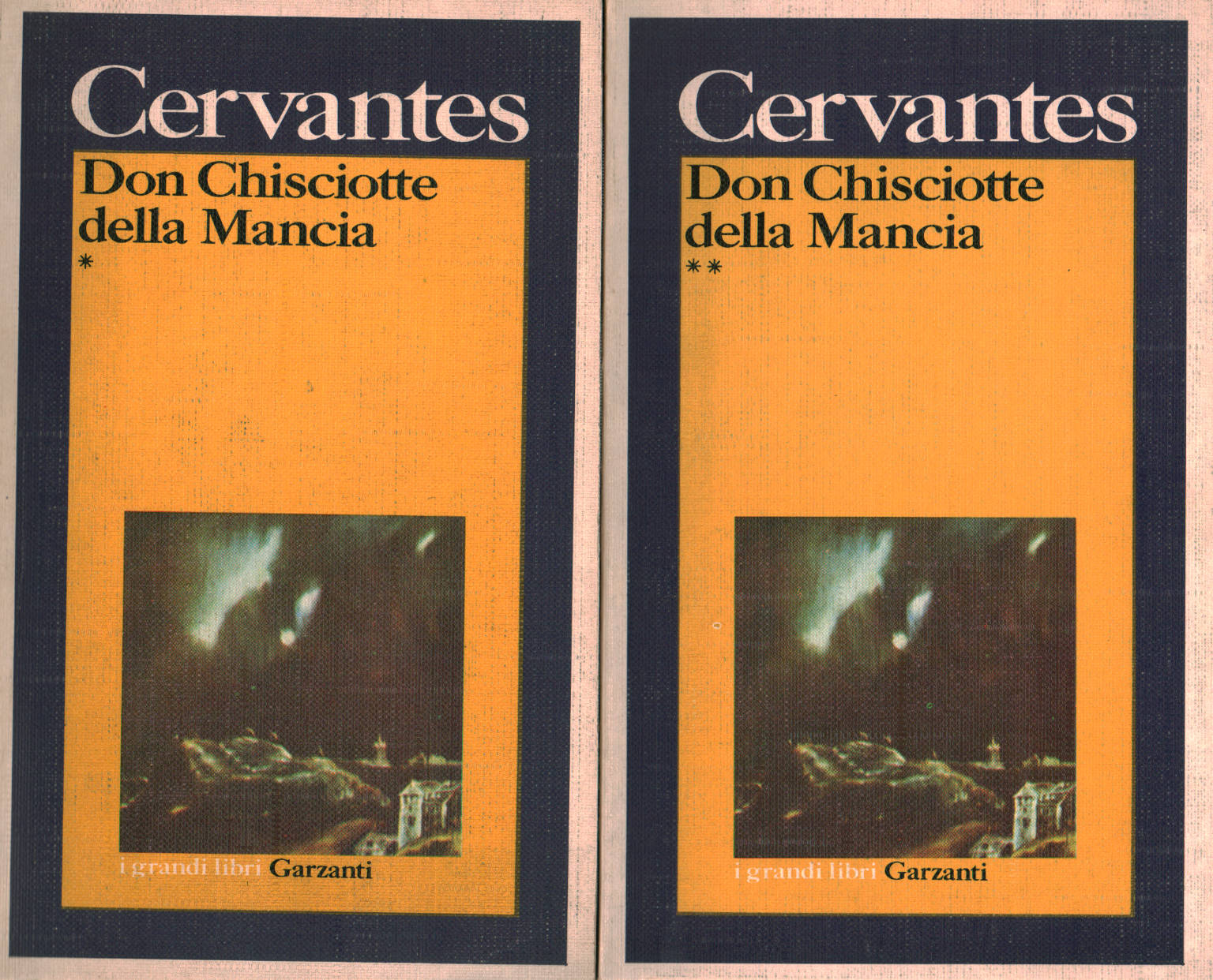 I Donchisciotte Del Tavolino.Don Chisciotte Della Mancia 2 Volumi Miguel De Cervantes