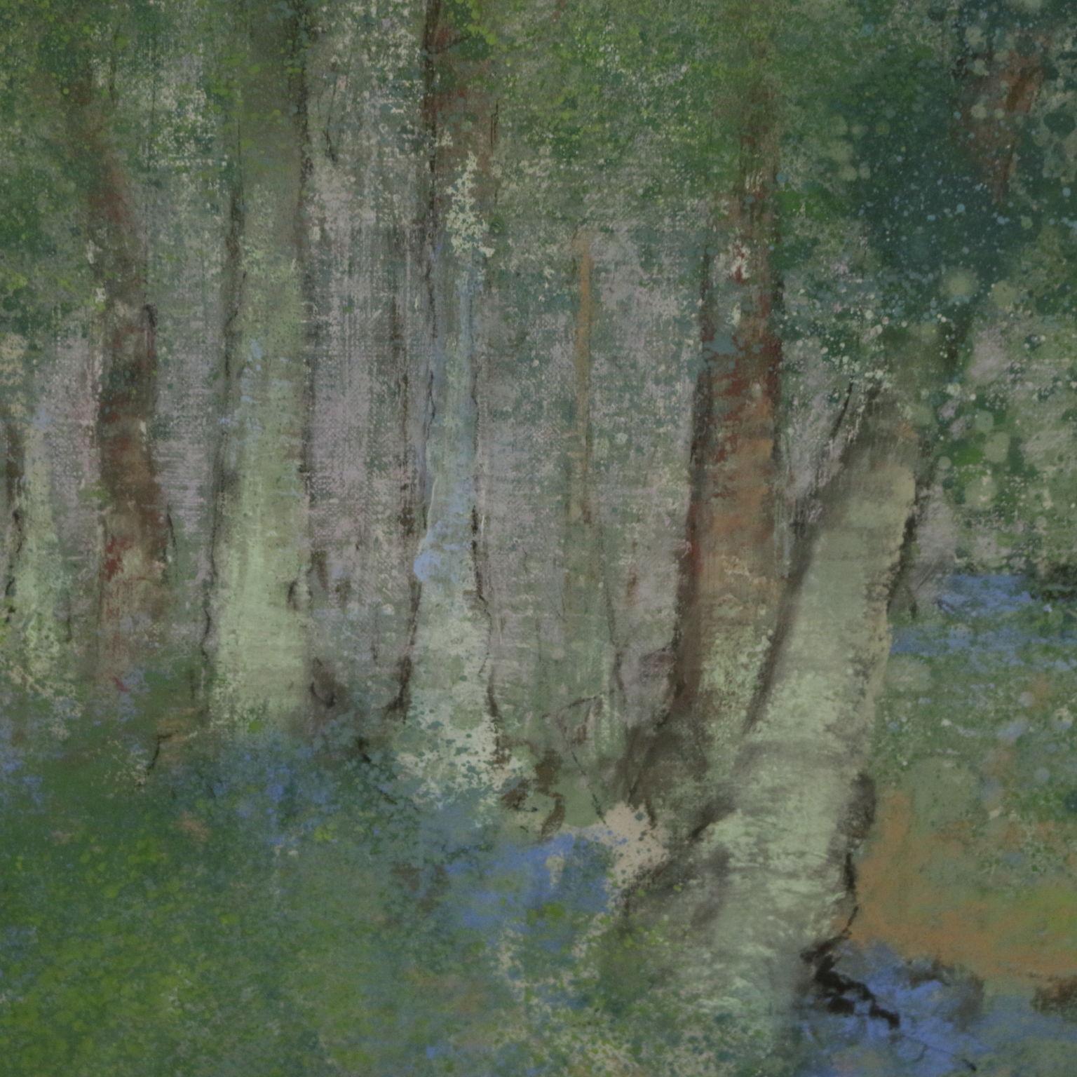 Paesaggio di enzo maio contemporanea arte - Pittura particolare ...