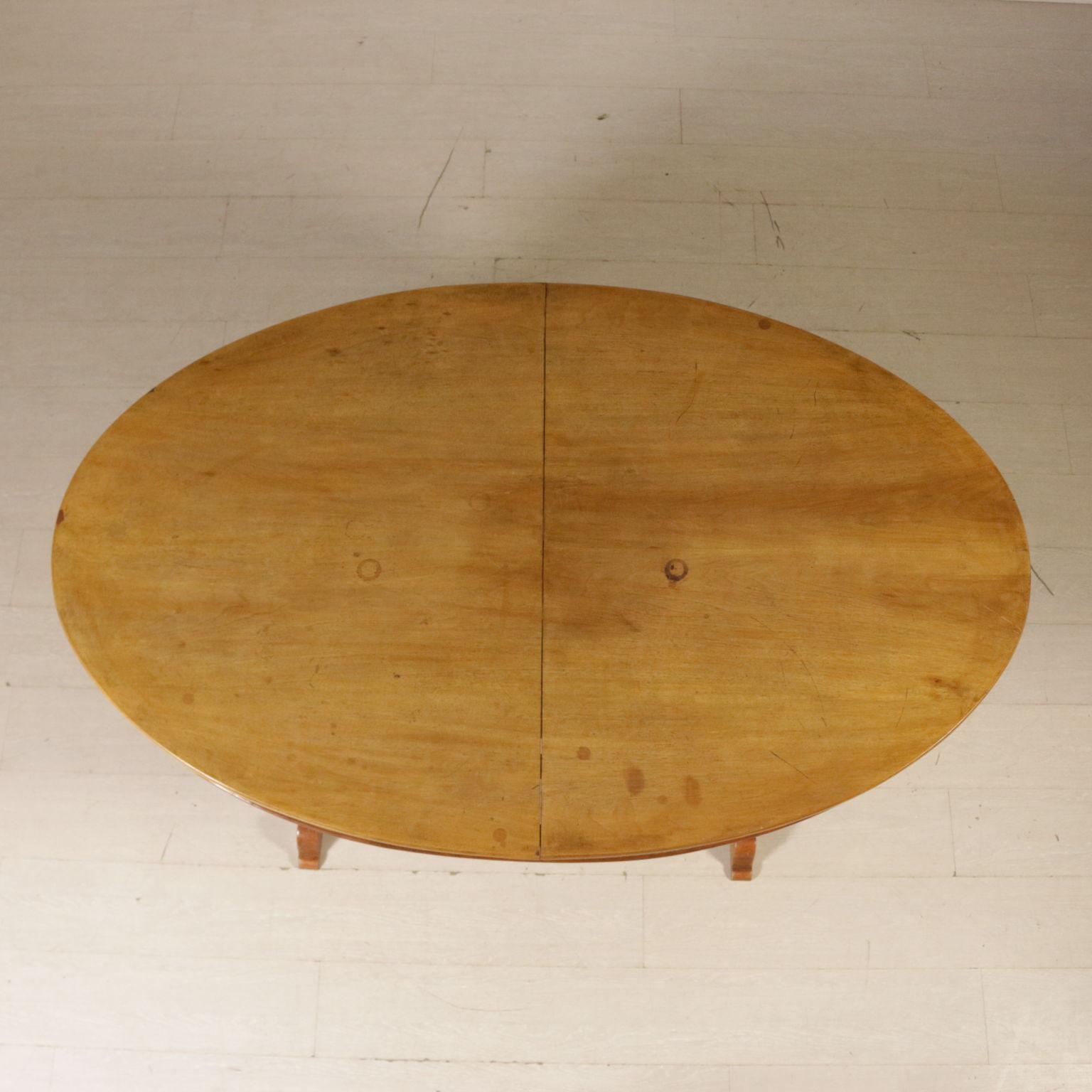 Table Ovale Allongeable '800 Italie Moitié Deuxième Noyer Tables tsCxBQhrd