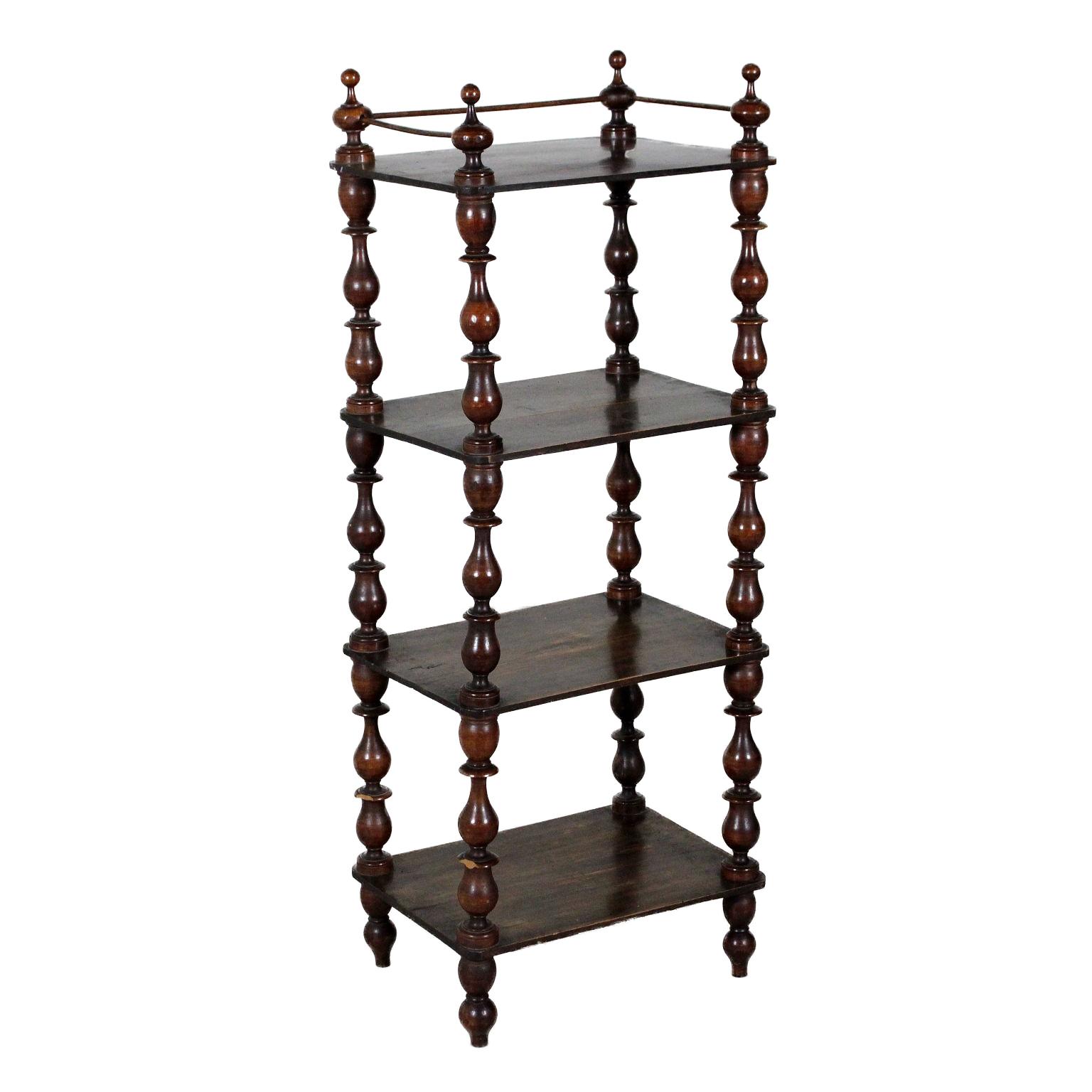 Piccola etag re in noce altri mobili antiquariato for Antiquariato mobili