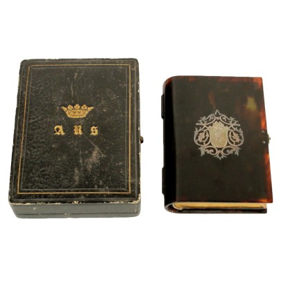 Holy Book Turtle Cover Silver France Mid 20th Century
