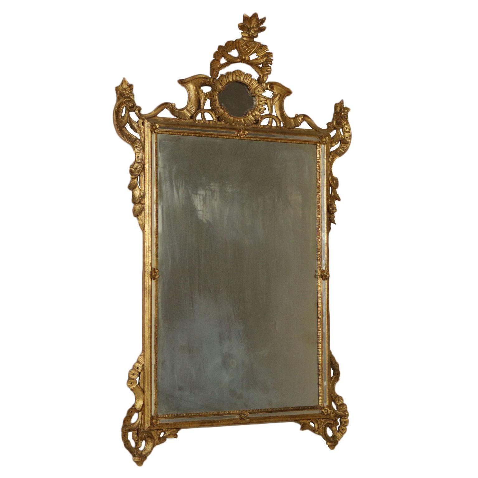 Specchiera in stile dorata specchi e cornici antiquariato - Specchi in stile ...